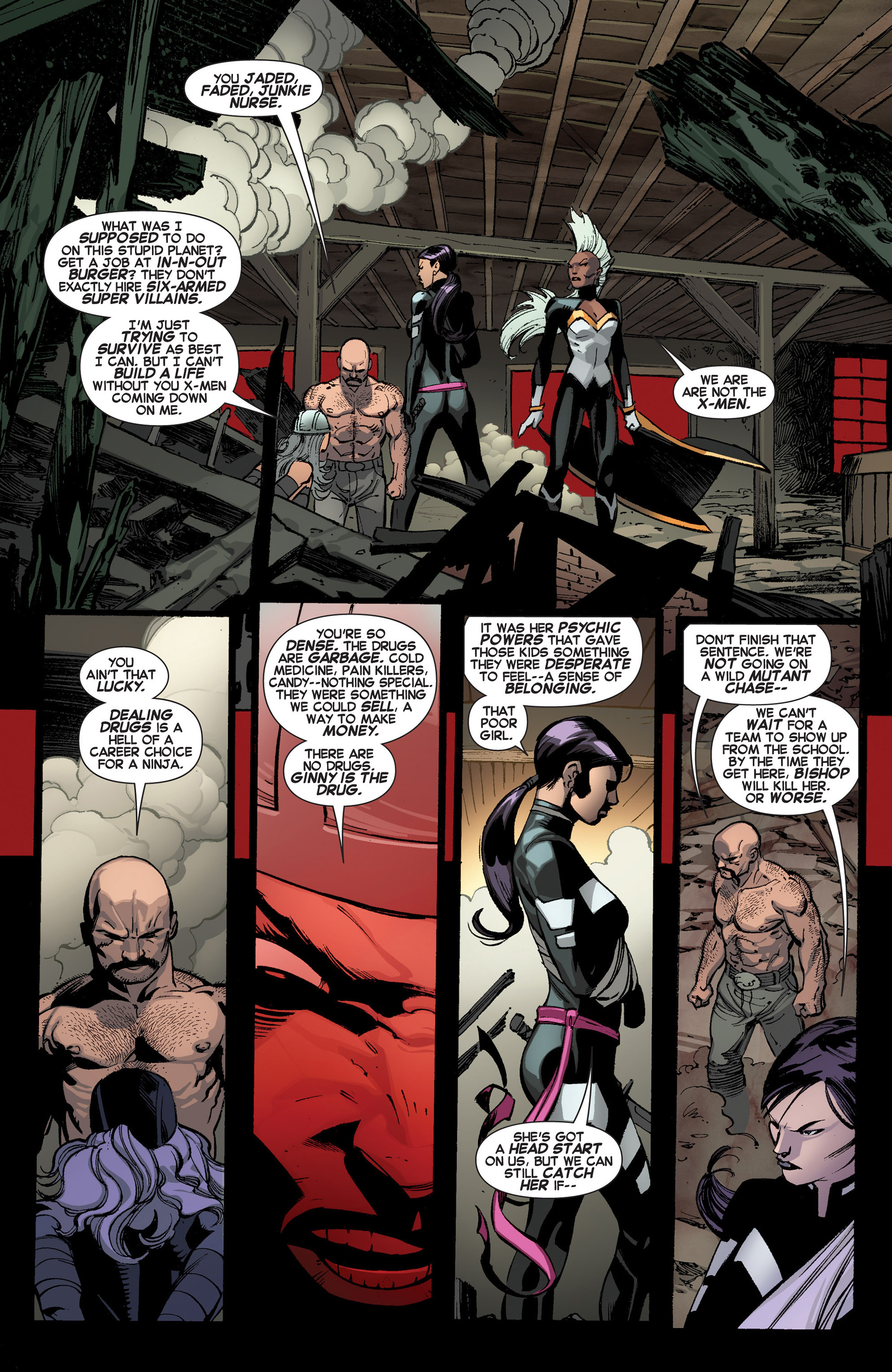 Read online Uncanny X-Force (2013) comic -  Issue #3 - 7