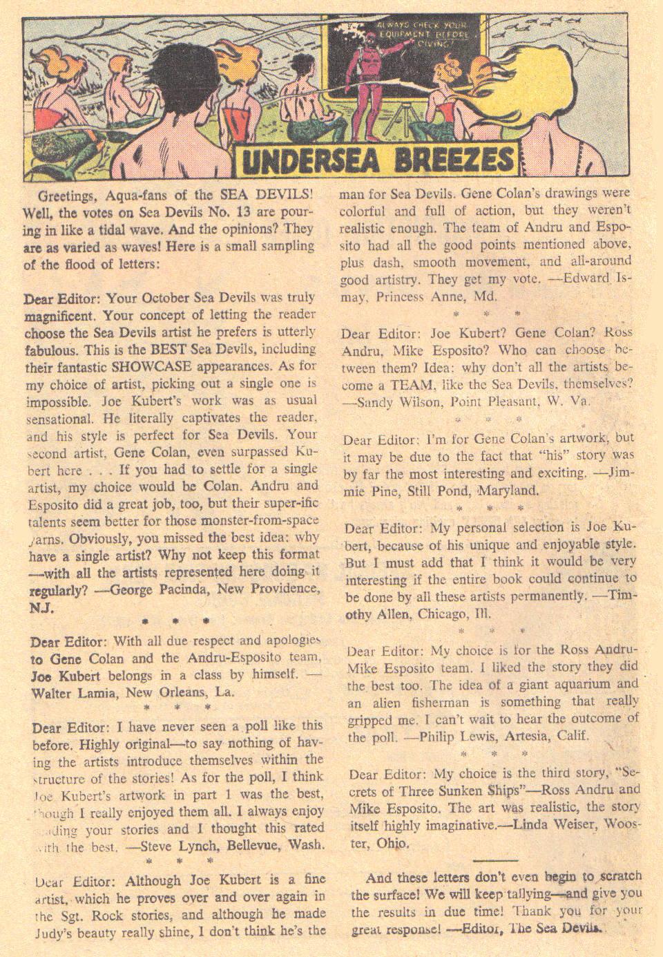Read online Sea Devils comic -  Issue #16 - 24