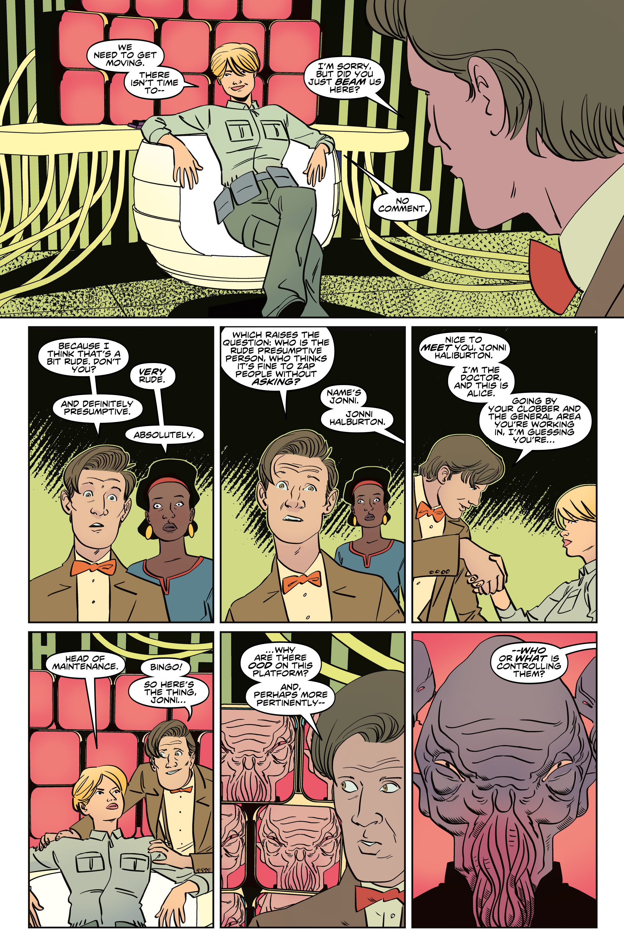 Read online Doctor Who: The Eleventh Doctor Year Three comic -  Issue #5 - 14