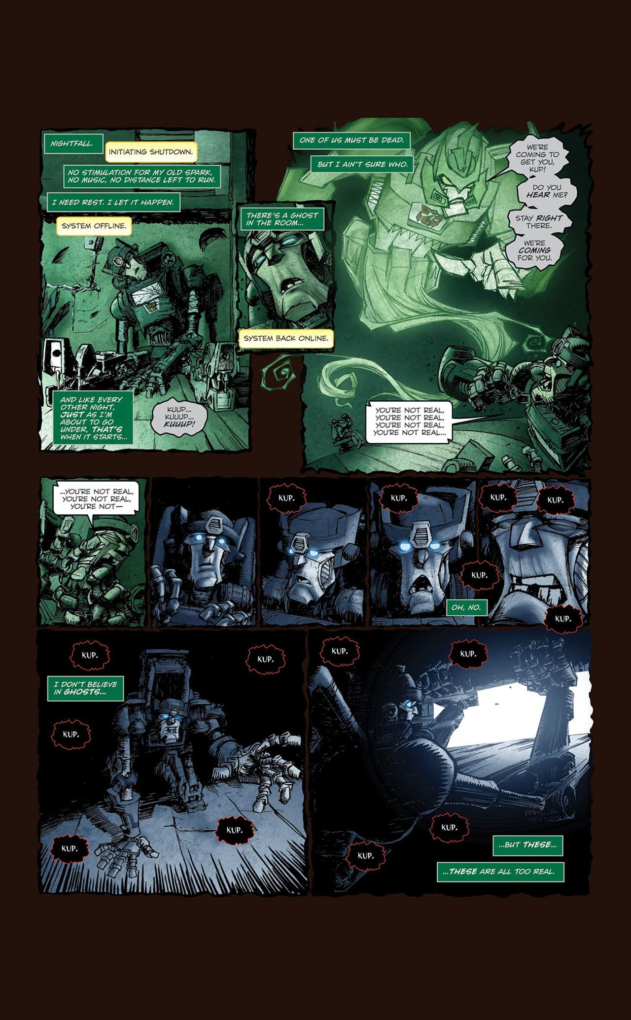 Read online Transformers Spotlight: Kup comic -  Issue # Full - 11