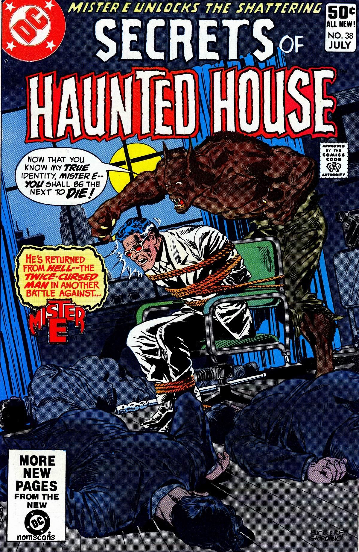 Read online Secrets of Haunted House comic -  Issue #38 - 1