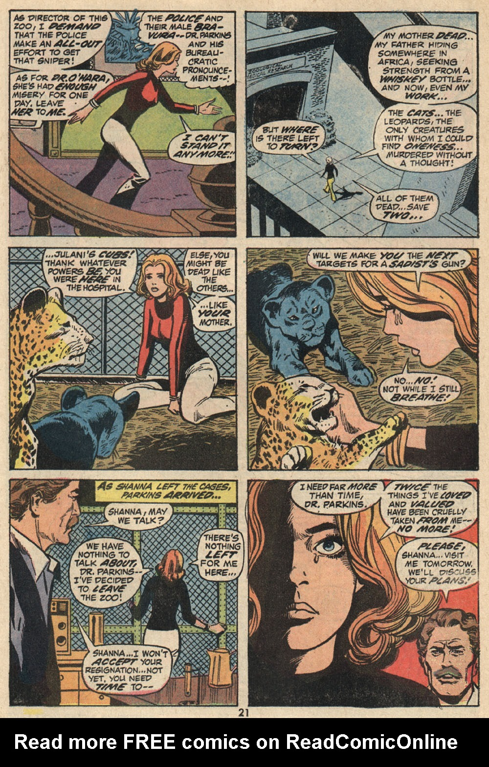 Read online Shanna, the She-Devil (1972) comic -  Issue #1 - 16