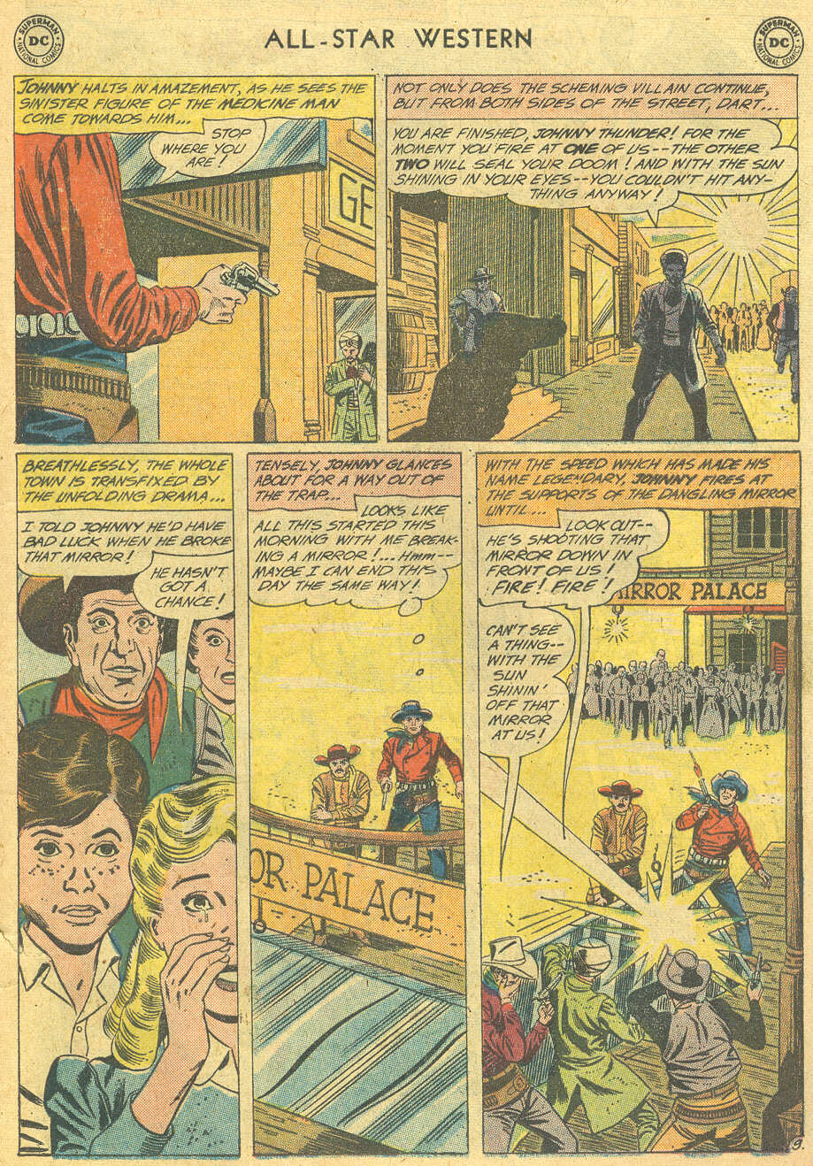 Read online All-Star Western (1951) comic -  Issue #114 - 11