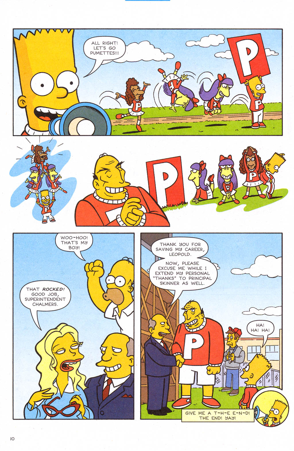 Read online Simpsons Comics Presents Bart Simpson comic -  Issue #24 - 12