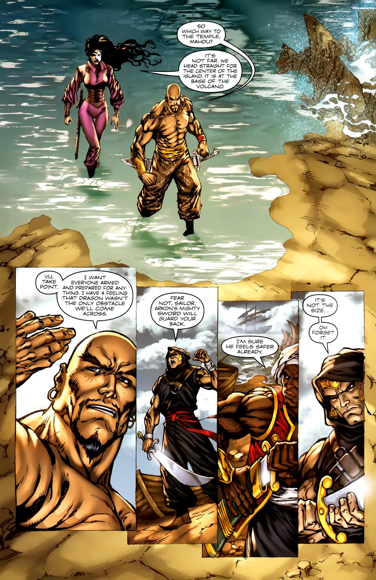 Read online 1001 Arabian Nights: The Adventures of Sinbad comic -  Issue #4 - 6