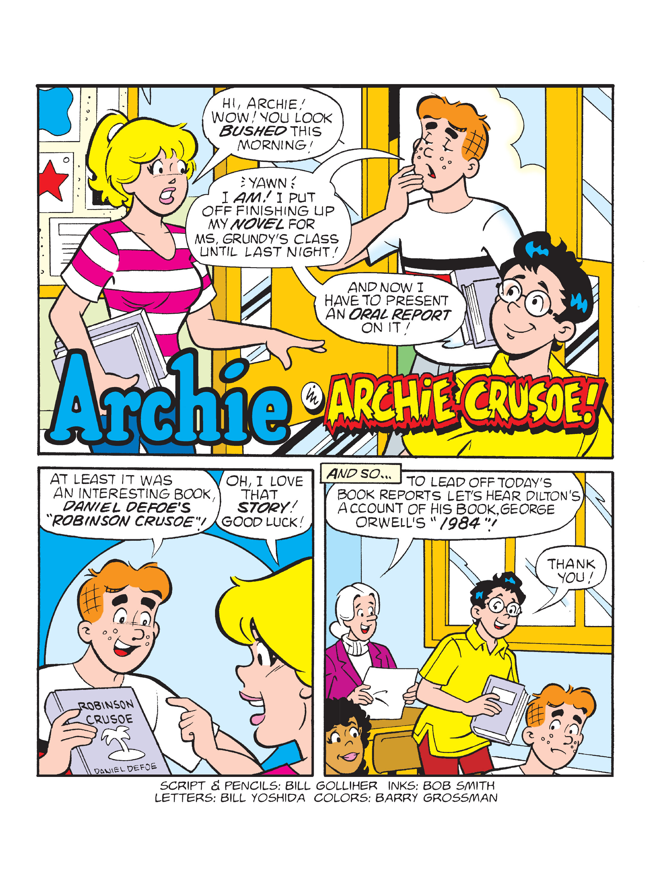 Read online Archie's Funhouse Double Digest comic -  Issue #8 - 8
