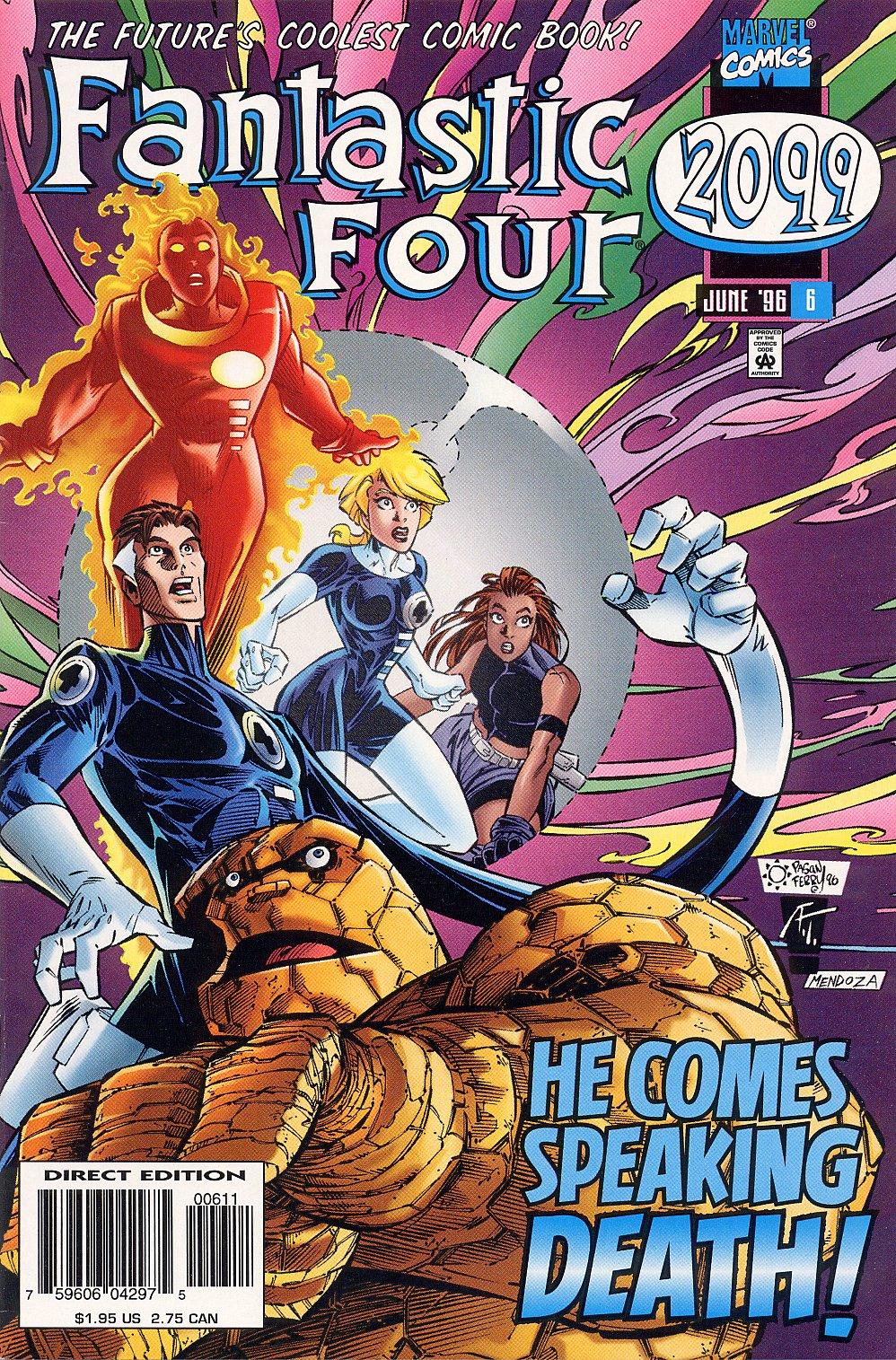 Fantastic Four 2099 6 Page 1