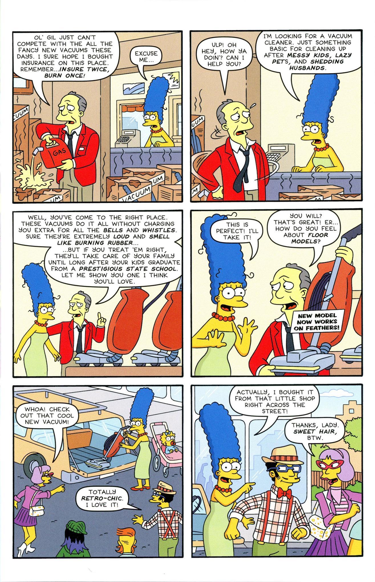 Read online Simpsons Comics comic -  Issue #233 - 25