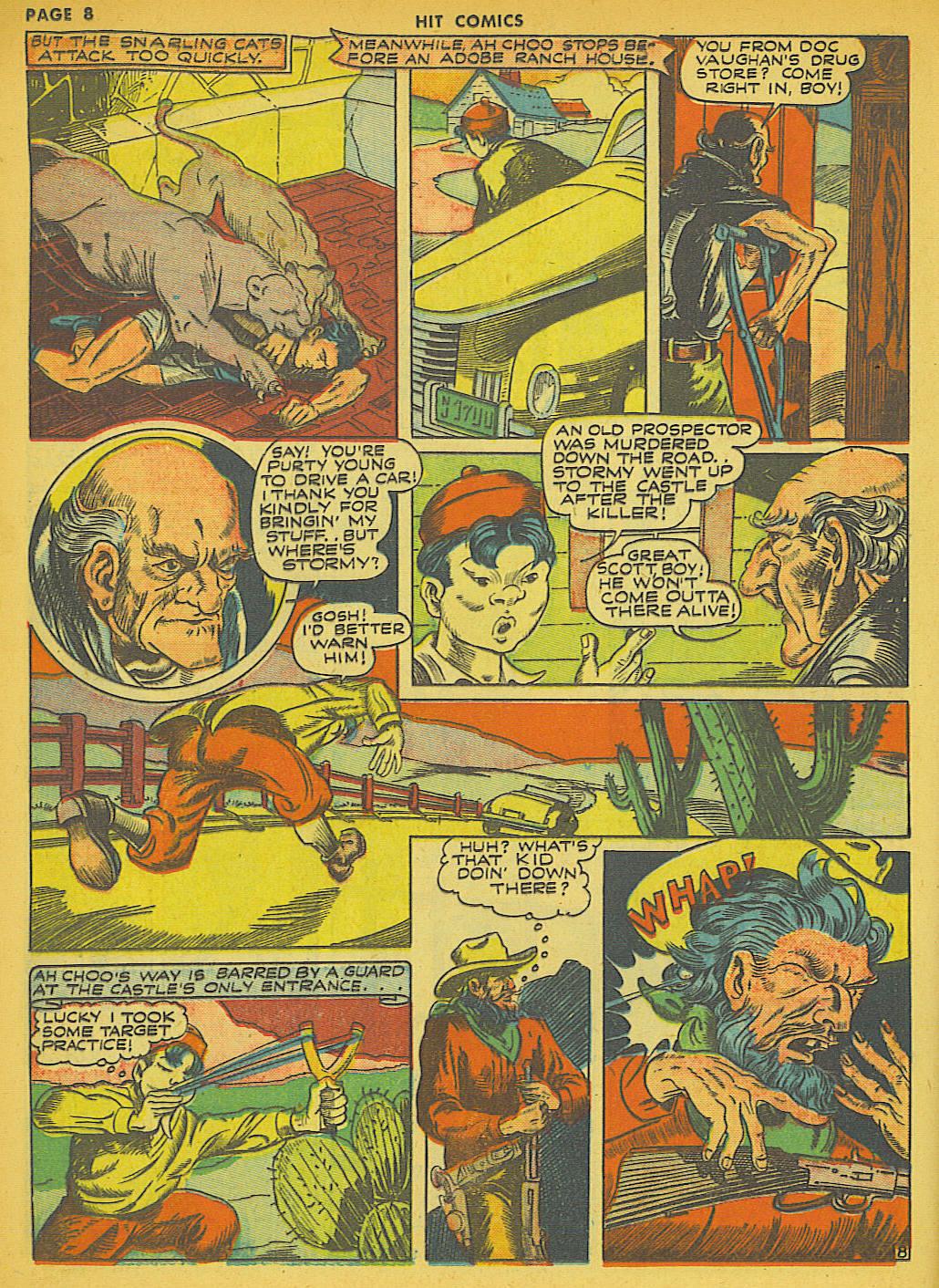 Read online Hit Comics comic -  Issue #21 - 10