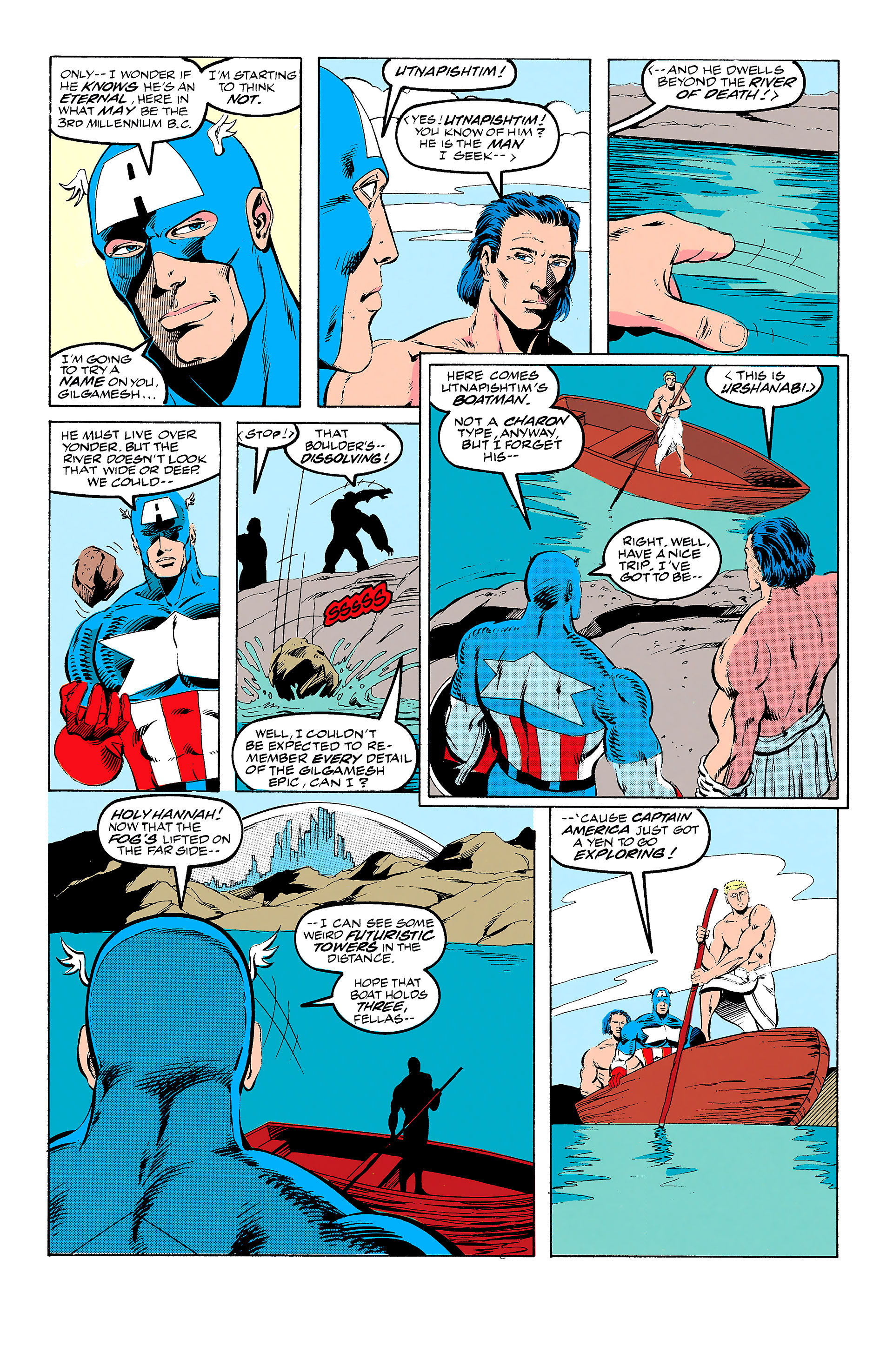 Read online Captain America (1968) comic -  Issue # _Annual 11 - 16