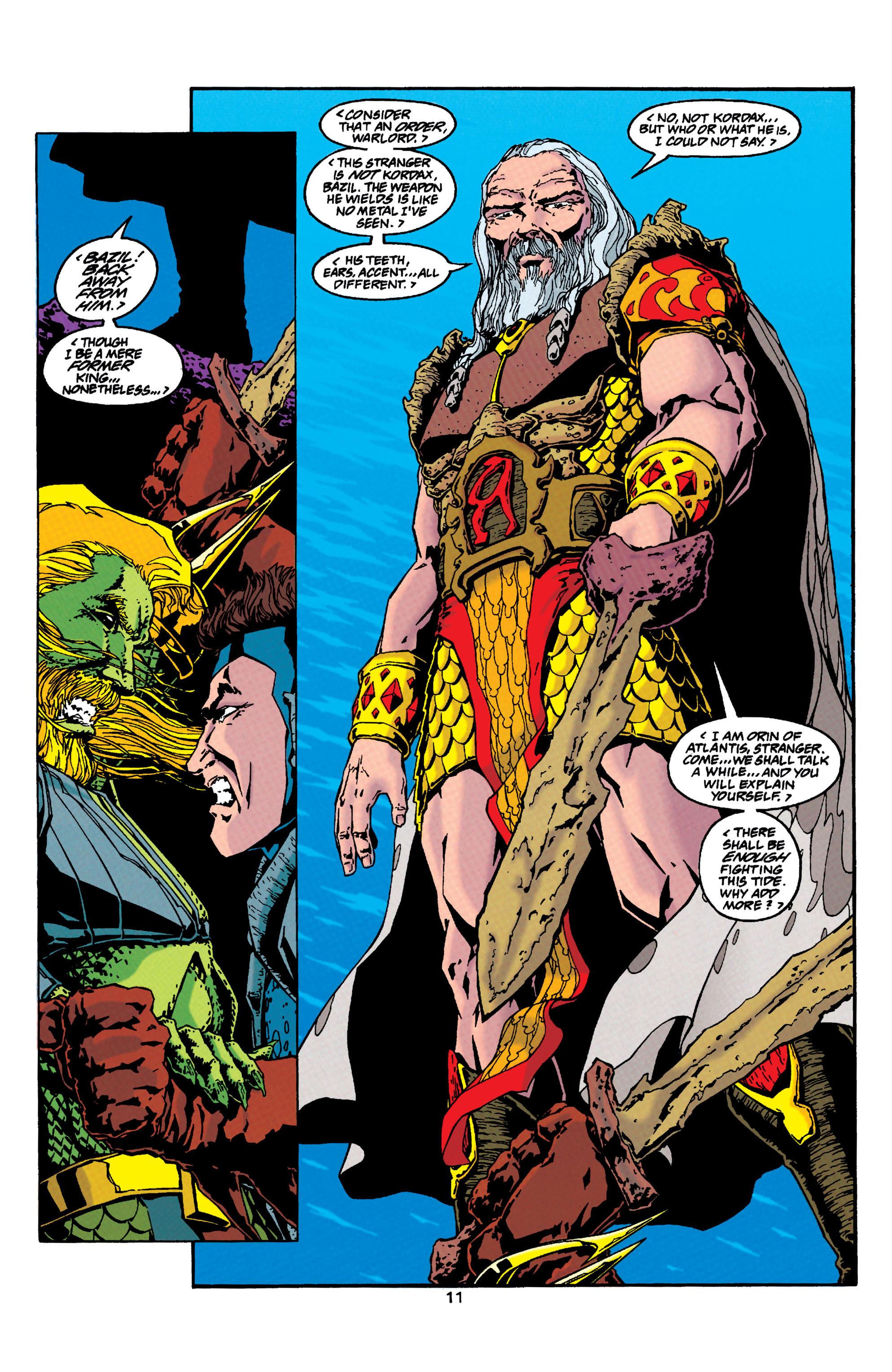 Read online Aquaman (1994) comic -  Issue #33 - 11