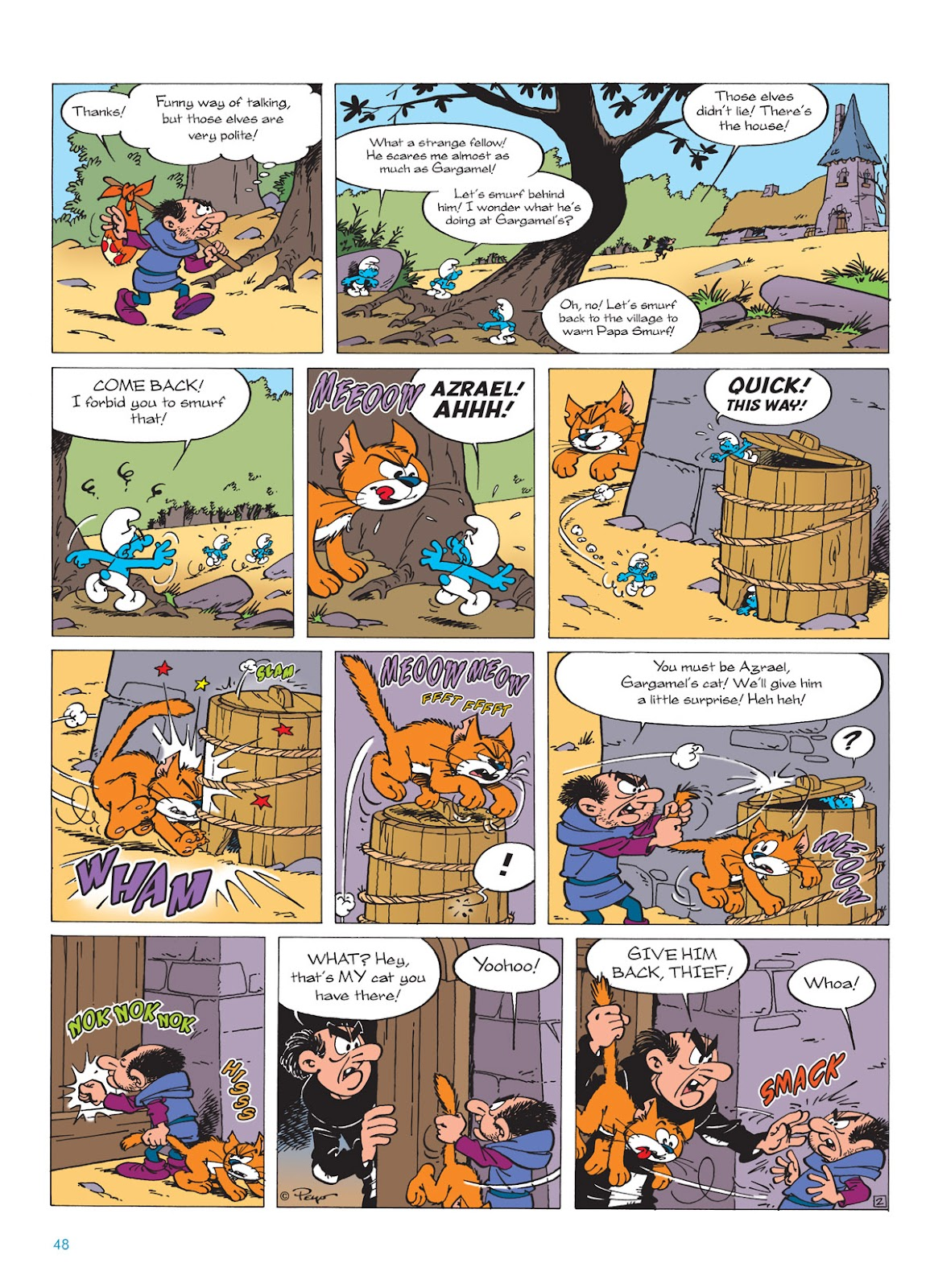 Read online The Smurfs comic -  Issue #9 - 48