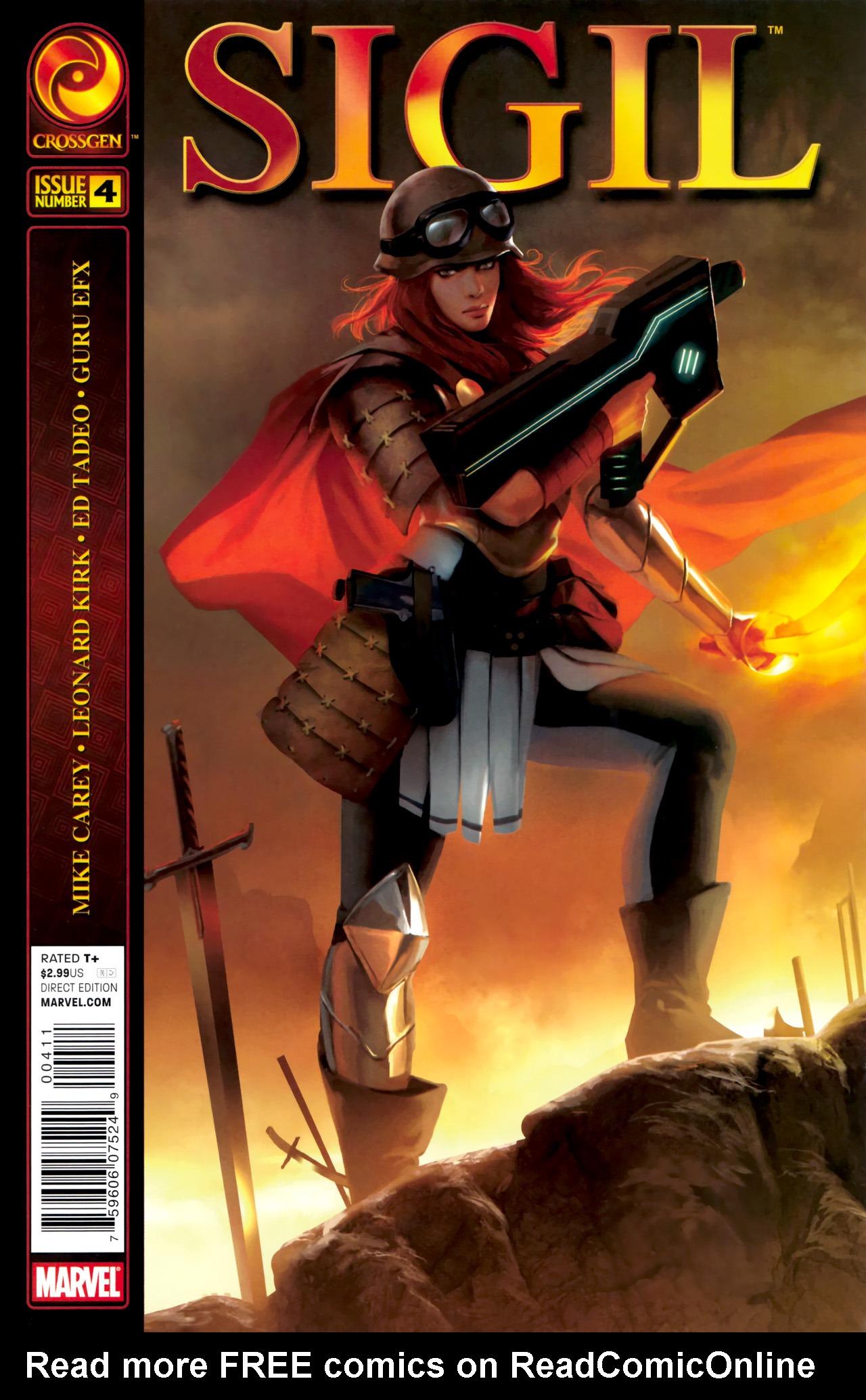 Read online Sigil (2011) comic -  Issue #4 - 1