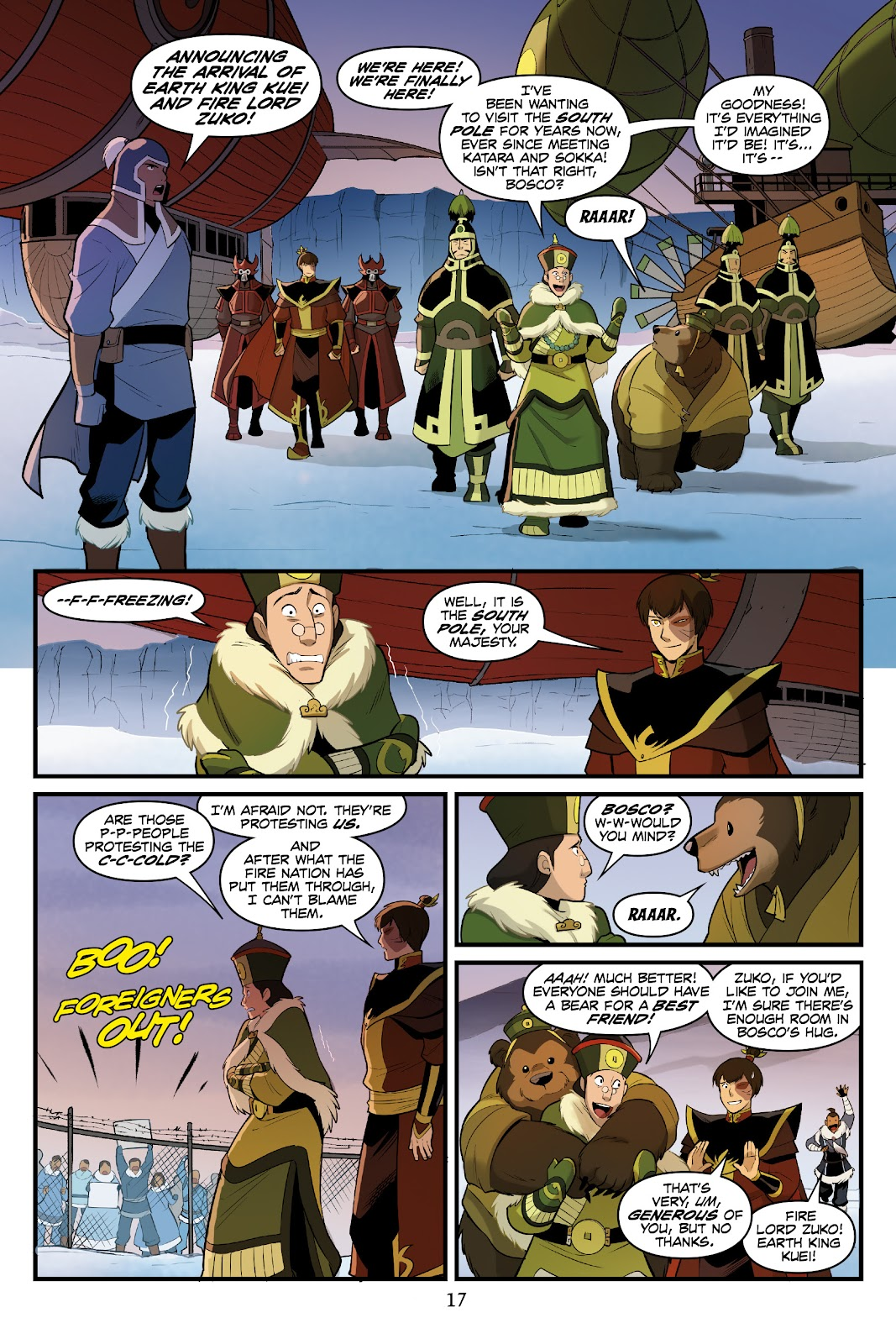 Nickelodeon Avatar: The Last Airbender - North and South issue 3 - Page 18