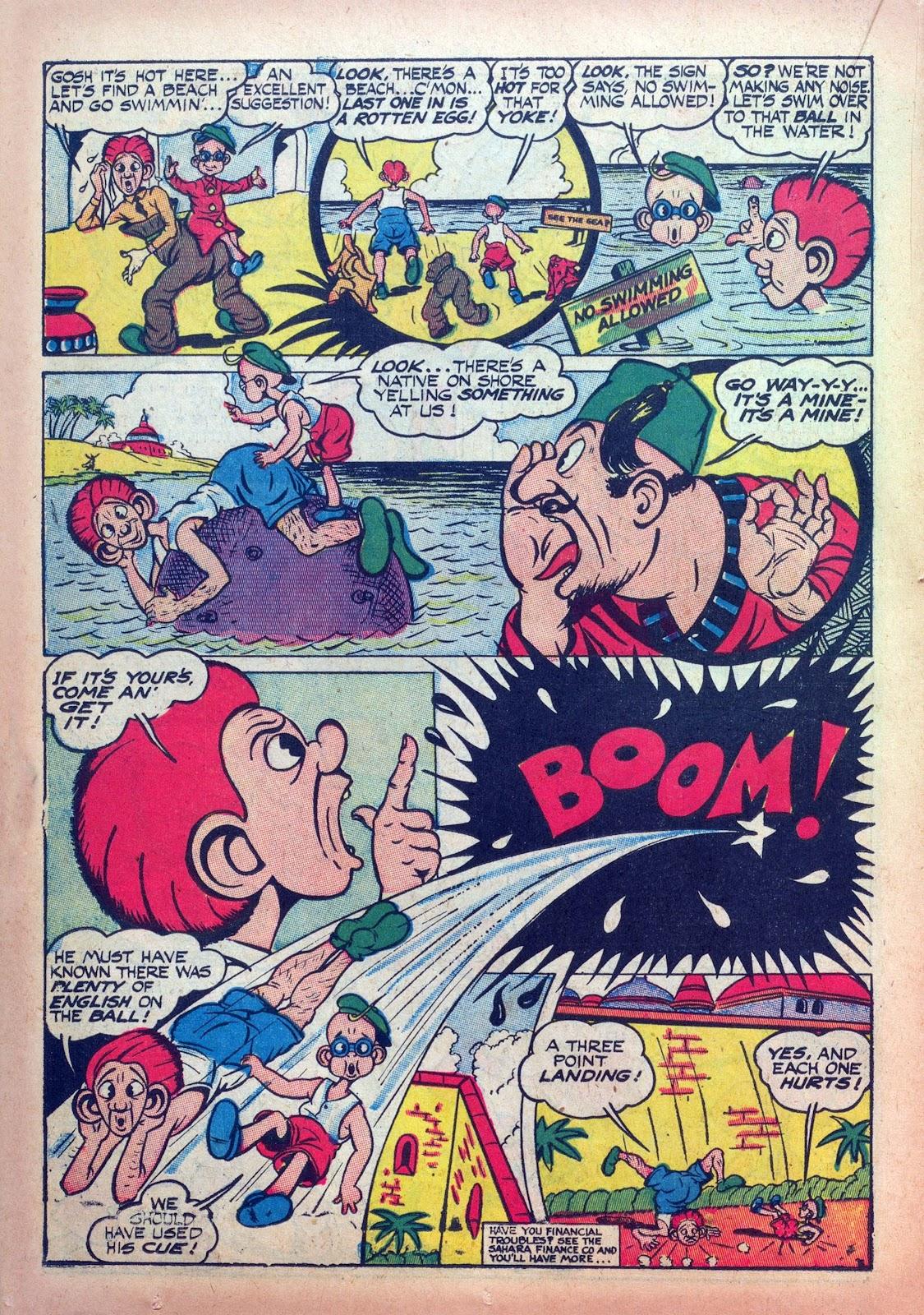 Read online Joker Comics comic -  Issue #9 - 40