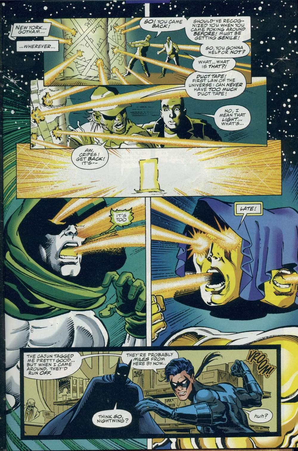 Read online DC Versus Marvel Comics comic -  Issue #2 - 11