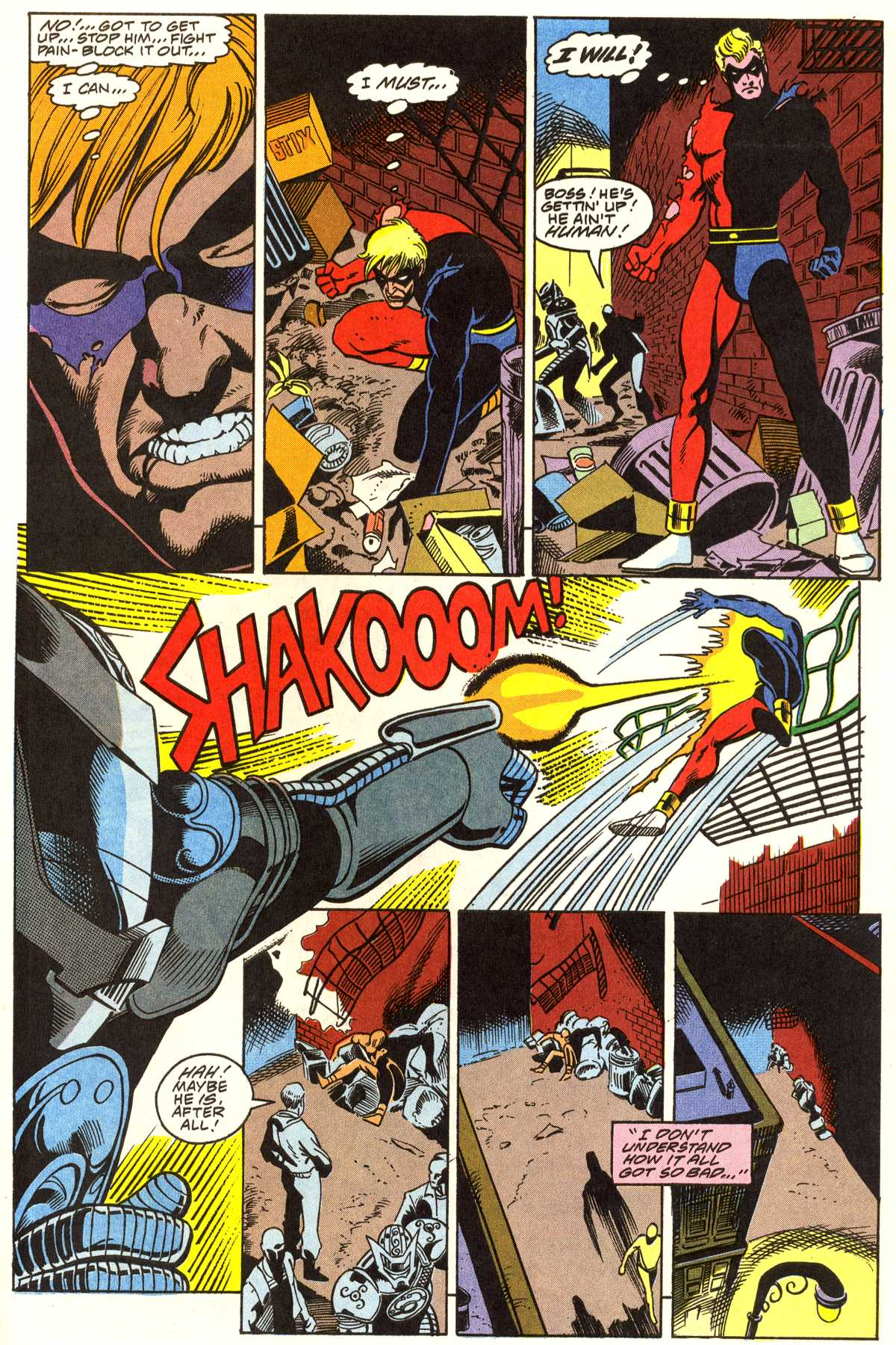 Read online Peter Cannon--Thunderbolt (1992) comic -  Issue #1 - 6