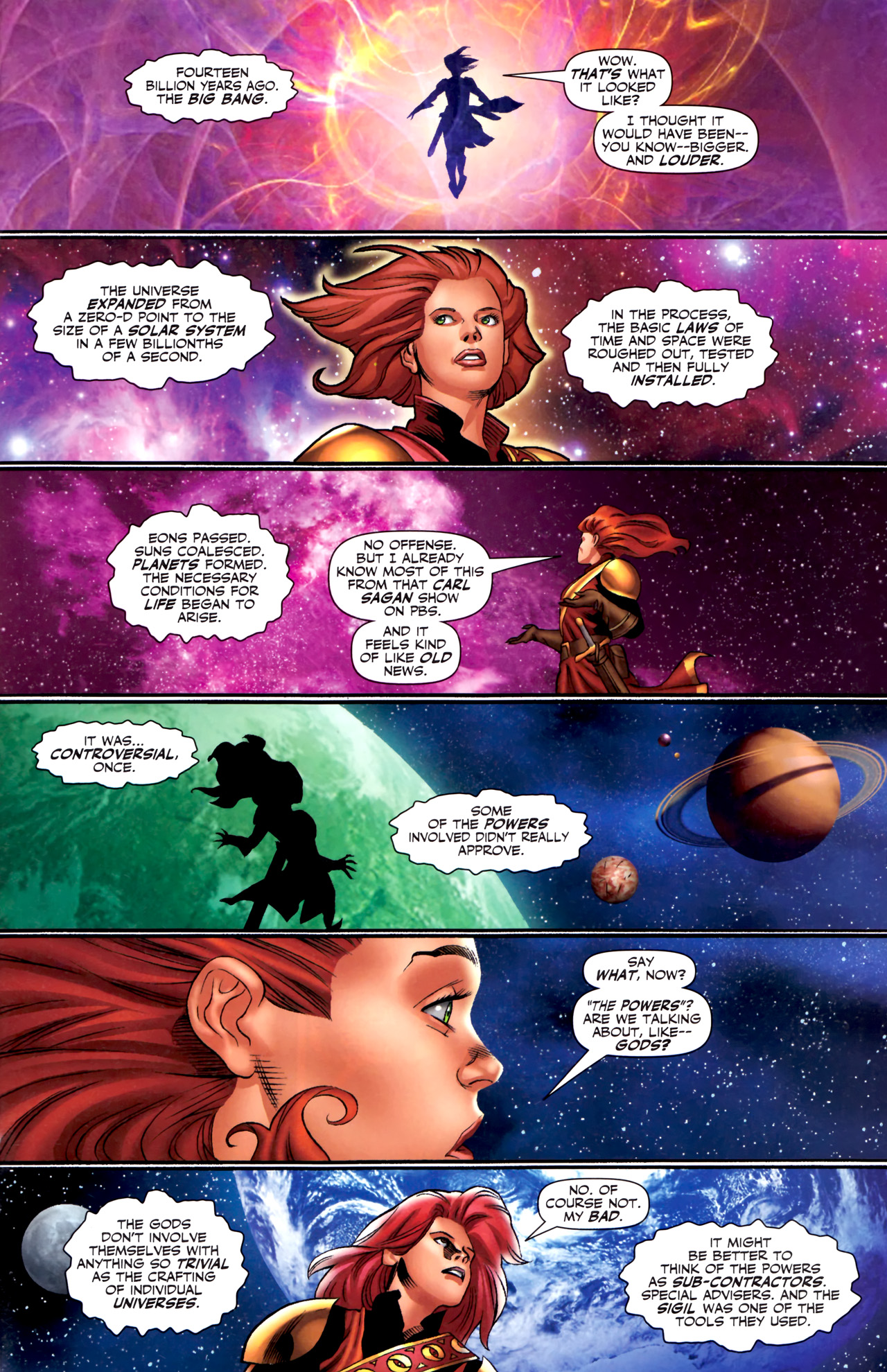 Read online Sigil (2011) comic -  Issue #3 - 14