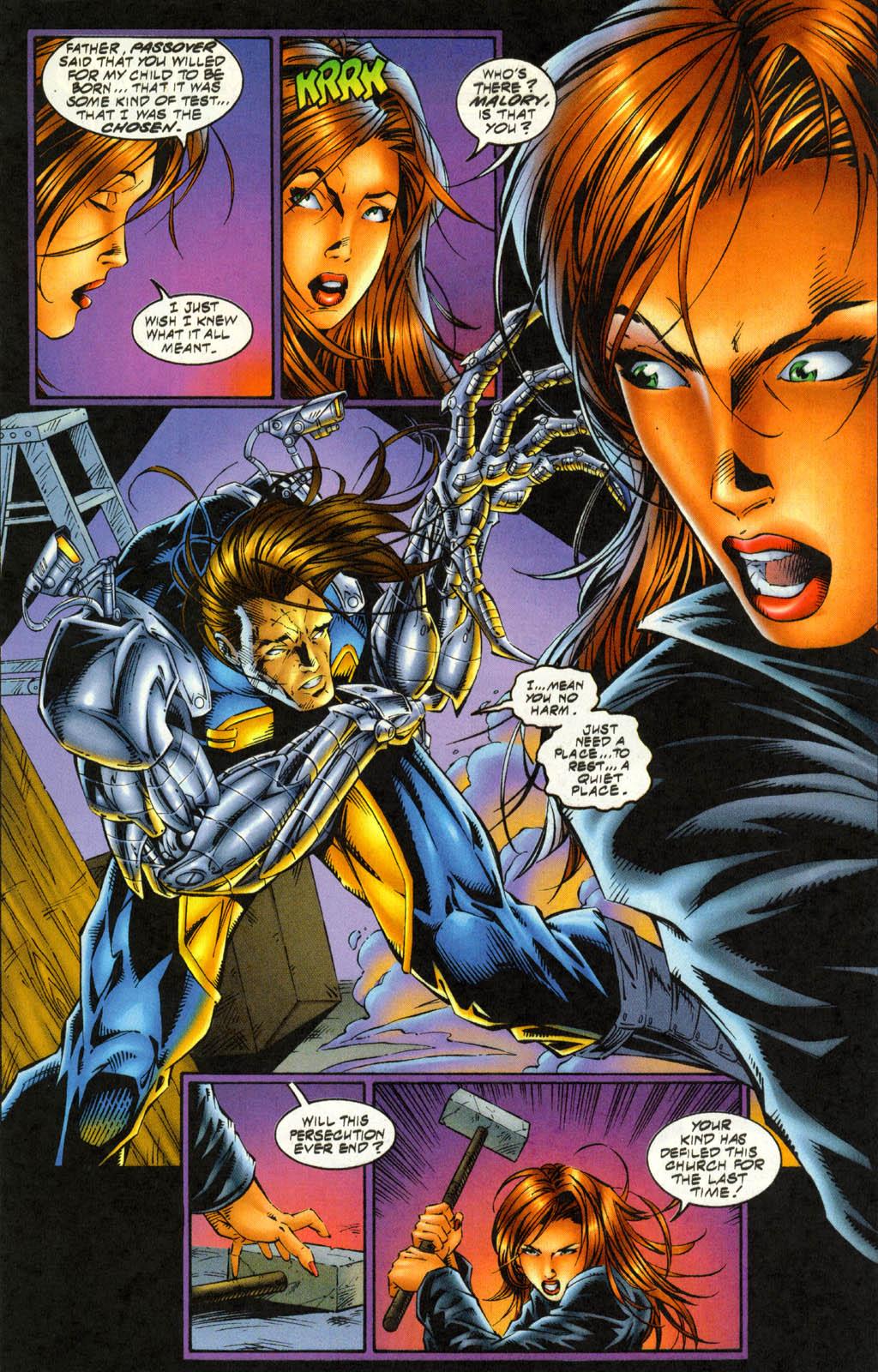 Read online Avengelyne (1996) comic -  Issue #4 - 8