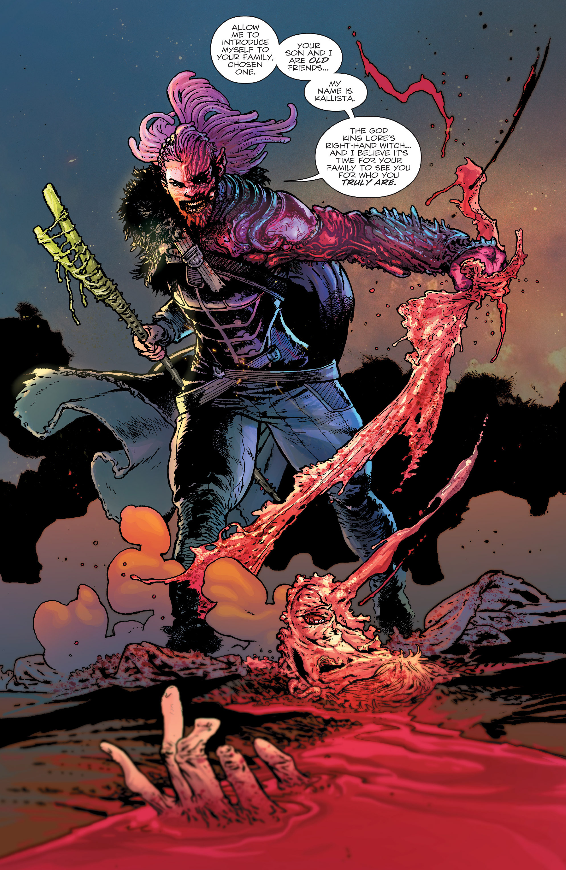 Read online Birthright (2014) comic -  Issue #24 - 21