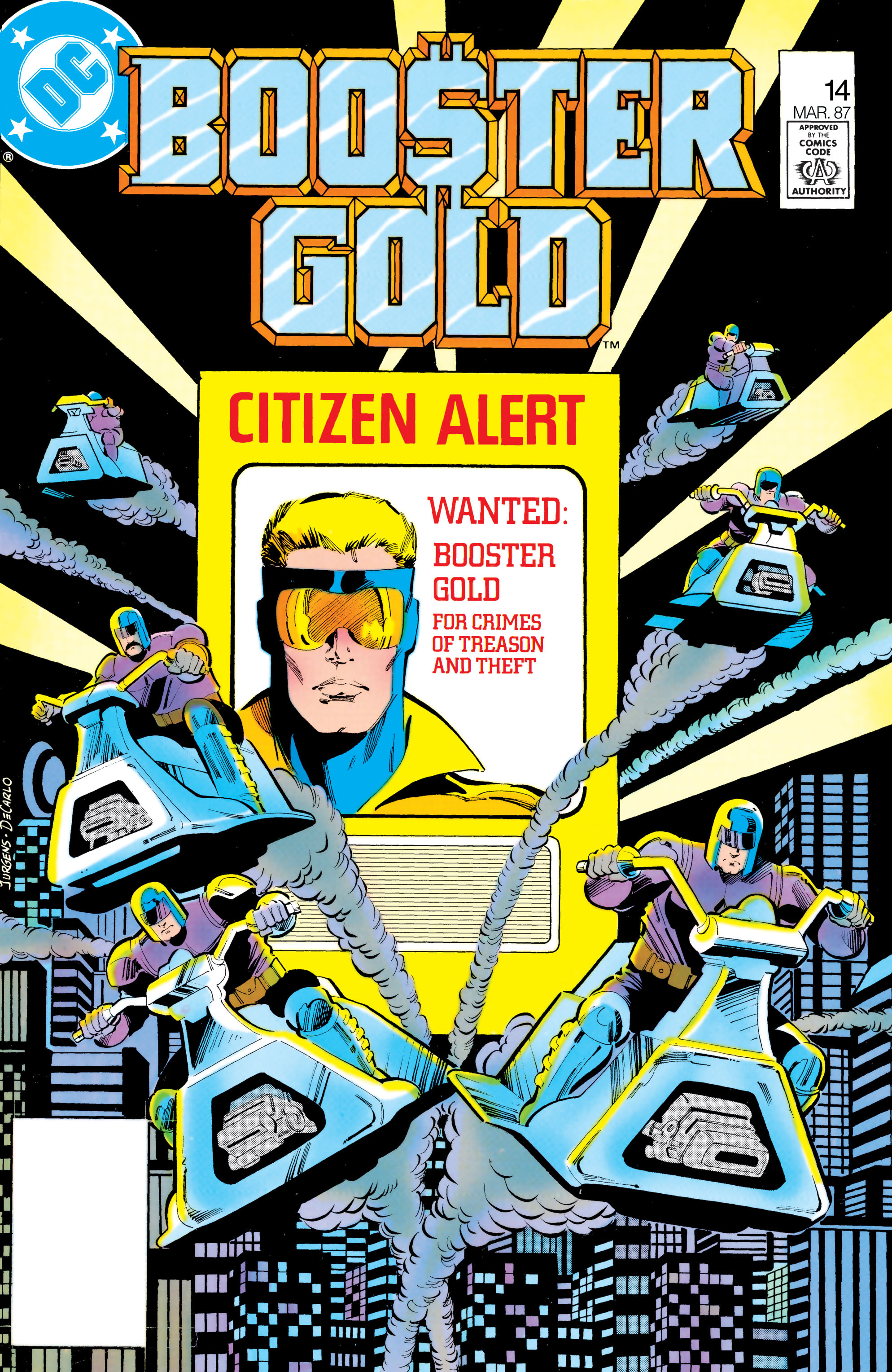 Booster Gold 1986 Issue 14