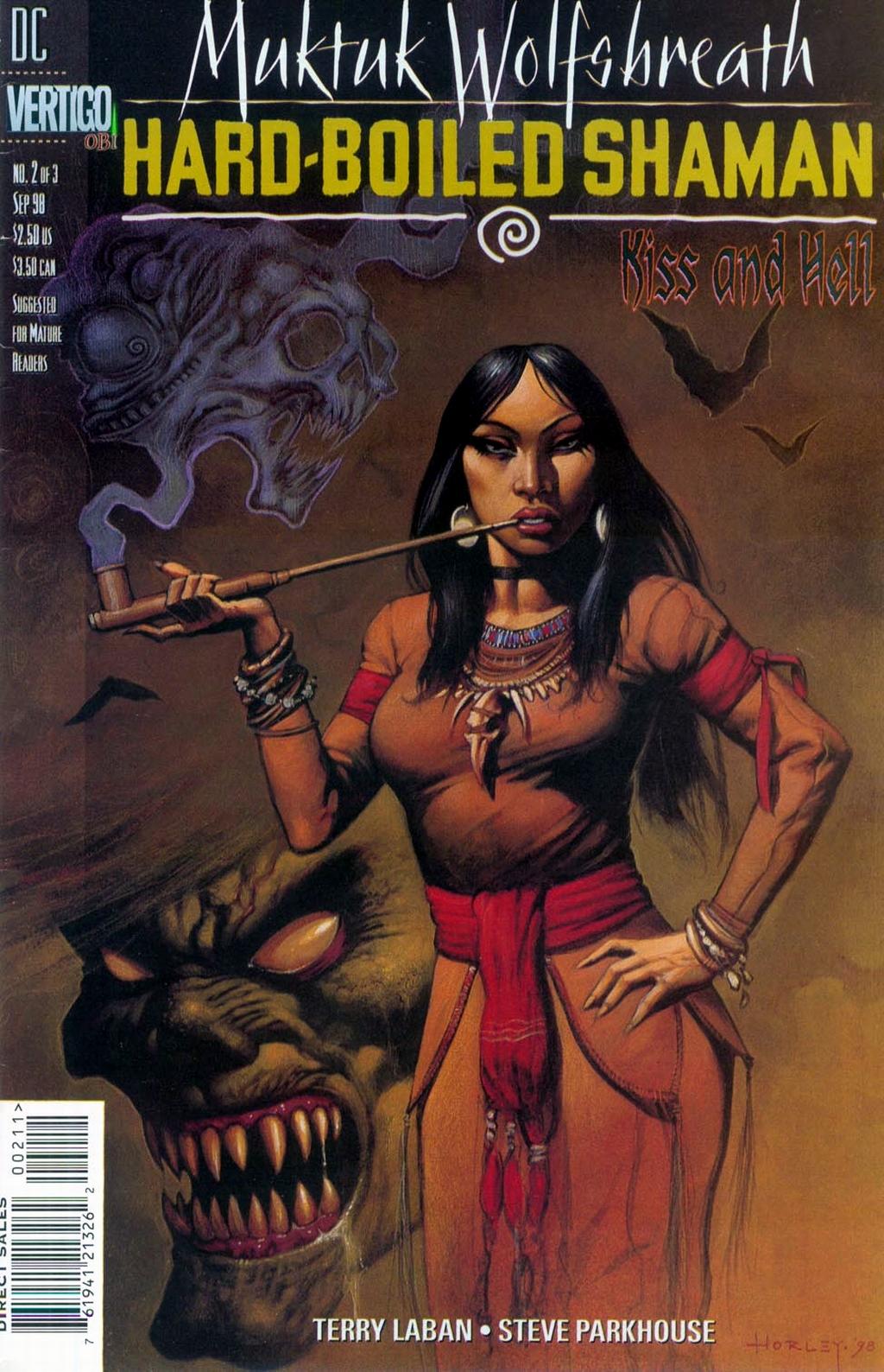Muktuk Wolfsbreath: Hard-Boiled Shaman issue 2 - Page 1
