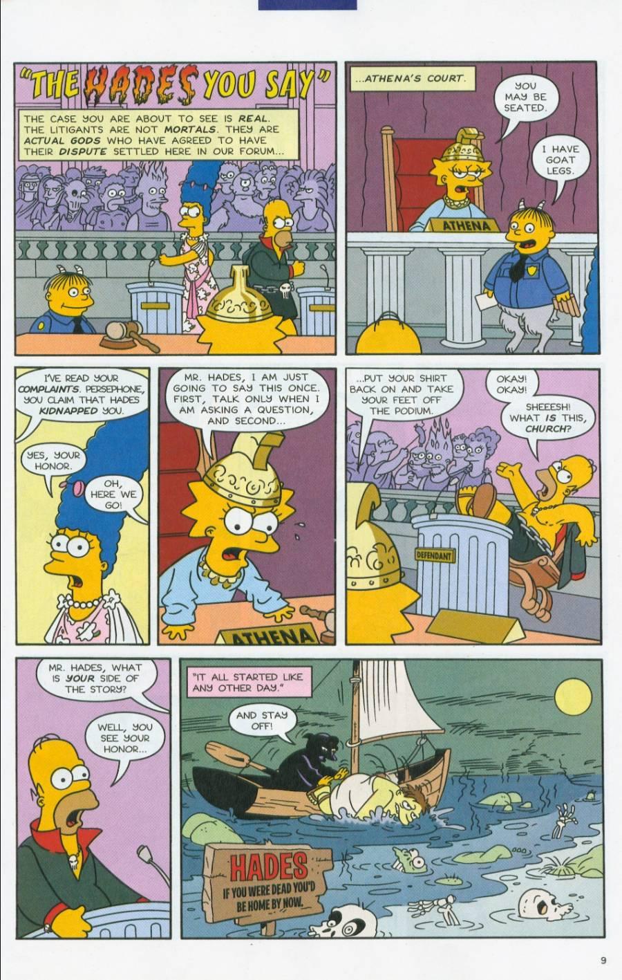 Read online Simpsons Comics comic -  Issue #70 - 10