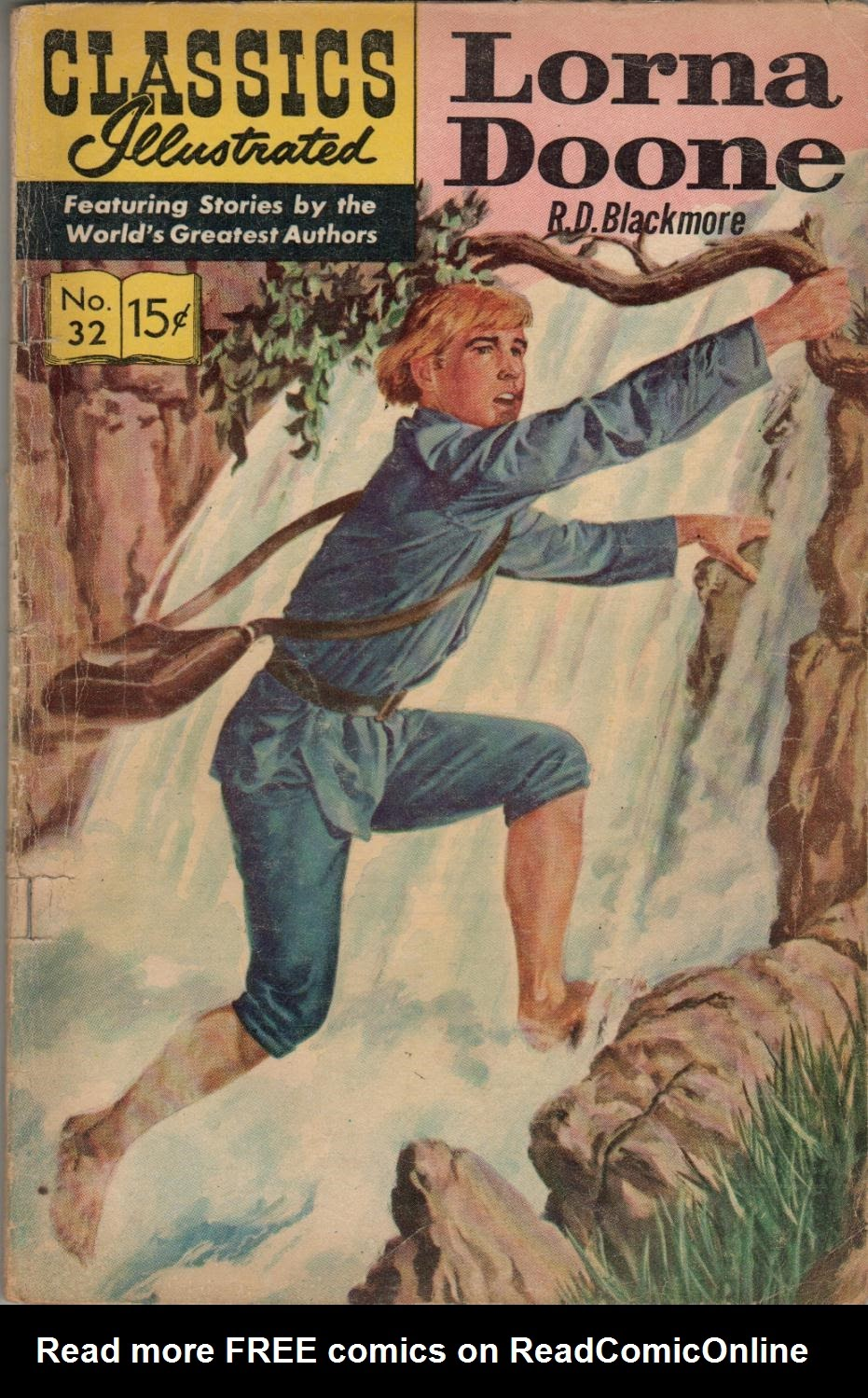 Classics Illustrated 32 Page 1