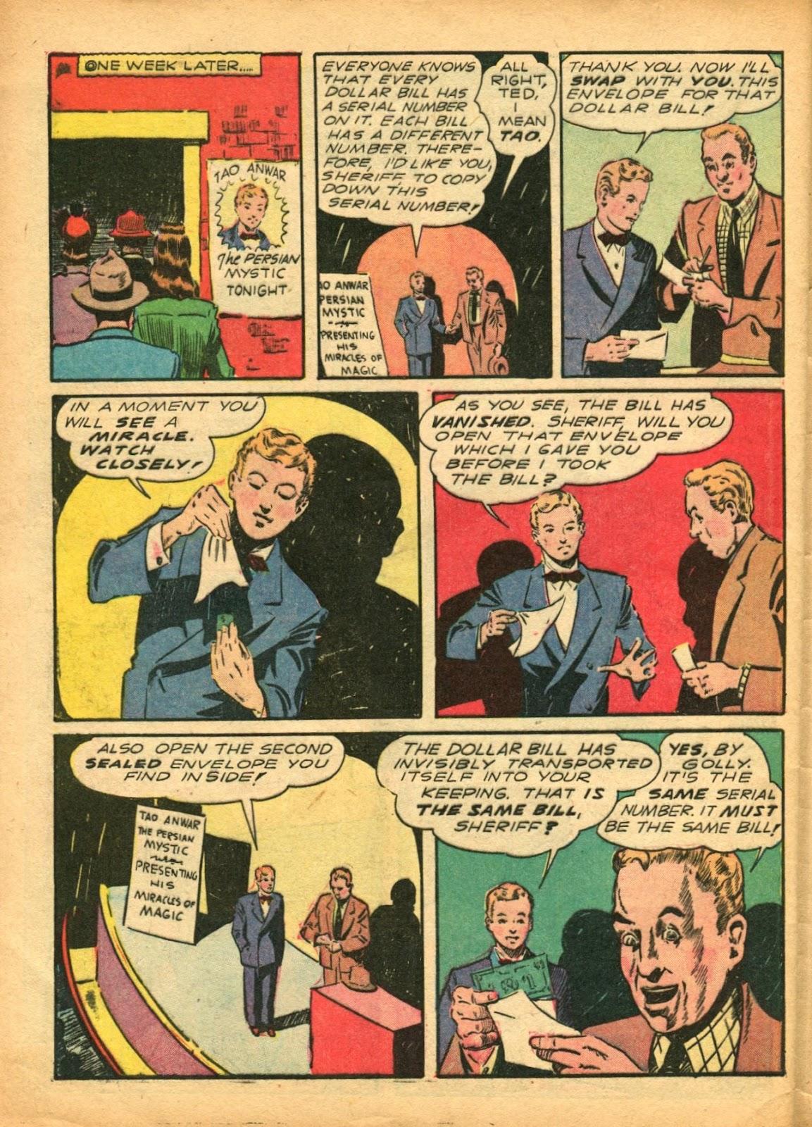 Read online Super-Magician Comics comic -  Issue #5 - 51