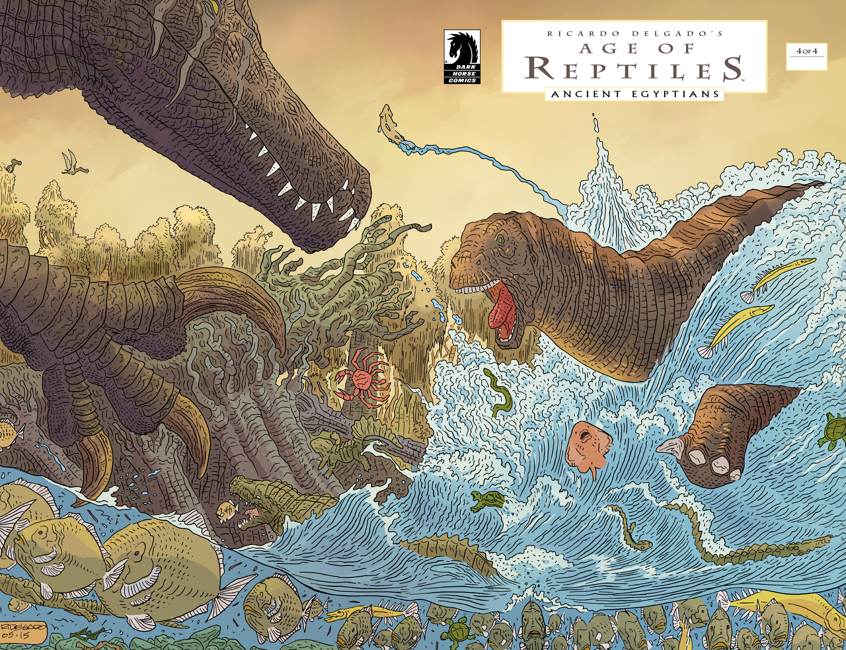 Read online Age of Reptiles: Ancient Egyptians comic -  Issue #4 - 1