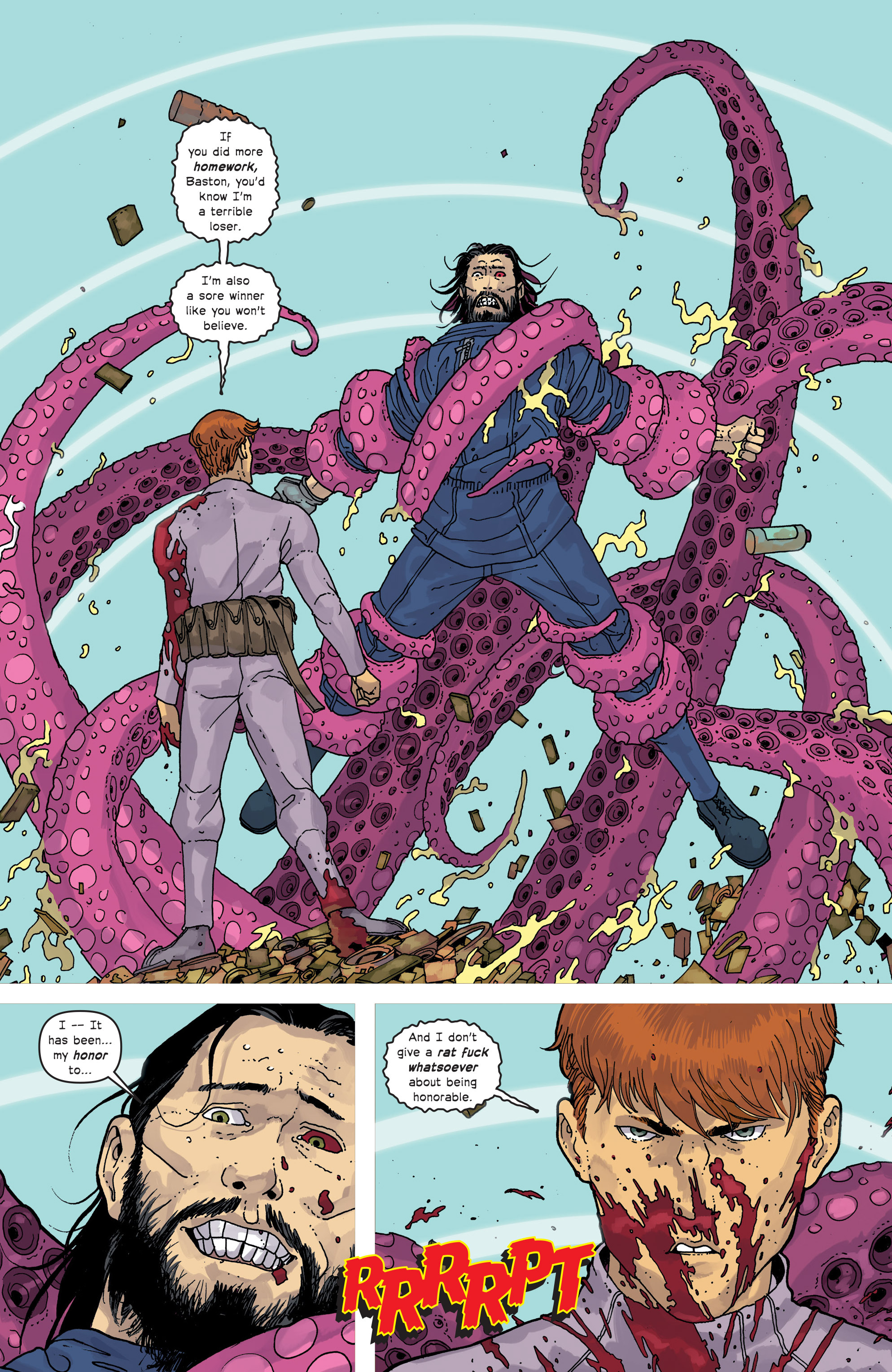 Read online Great Pacific comic -  Issue #18 - 23