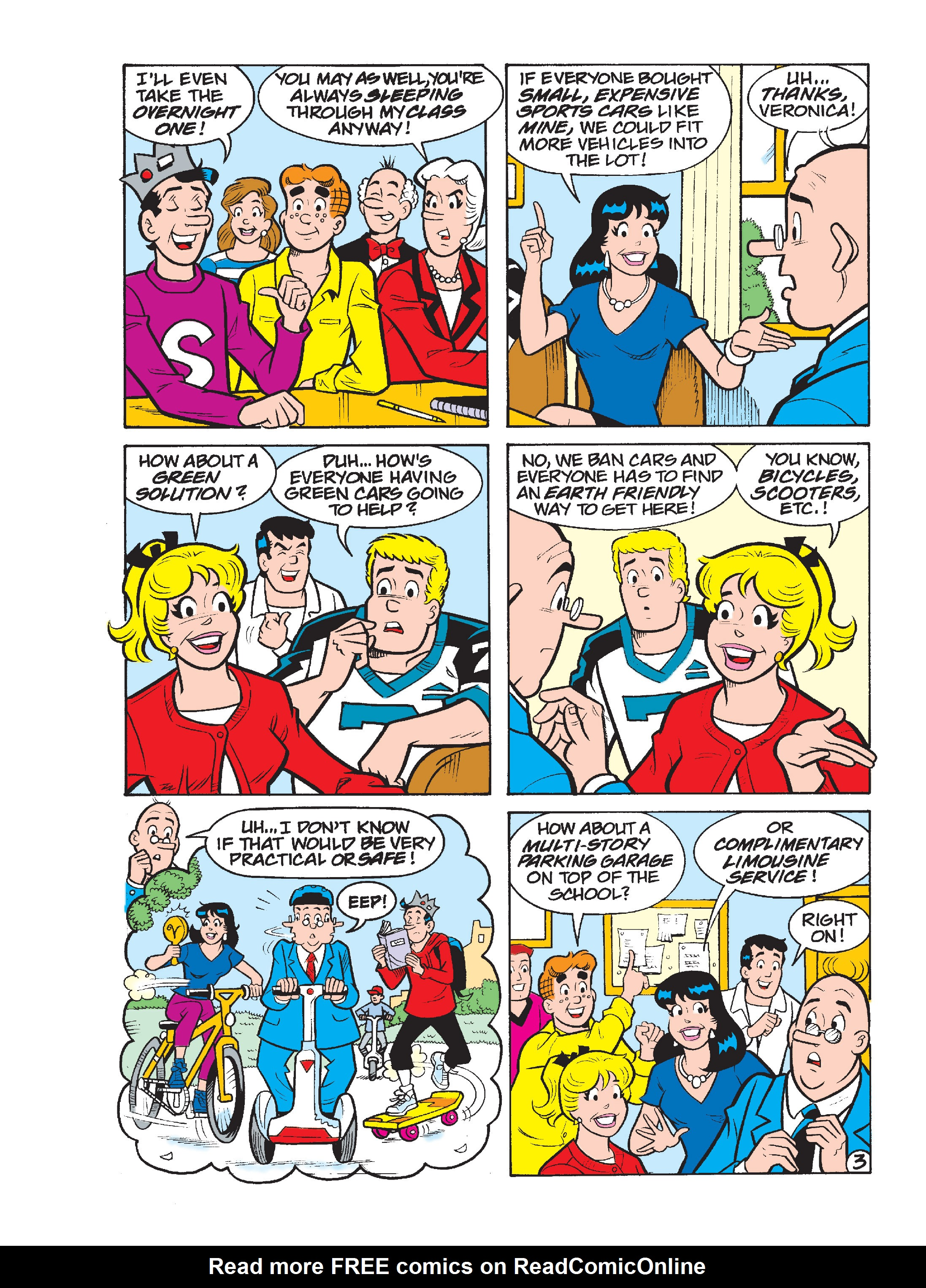 Read online Archie's Funhouse Double Digest comic -  Issue #17 - 63