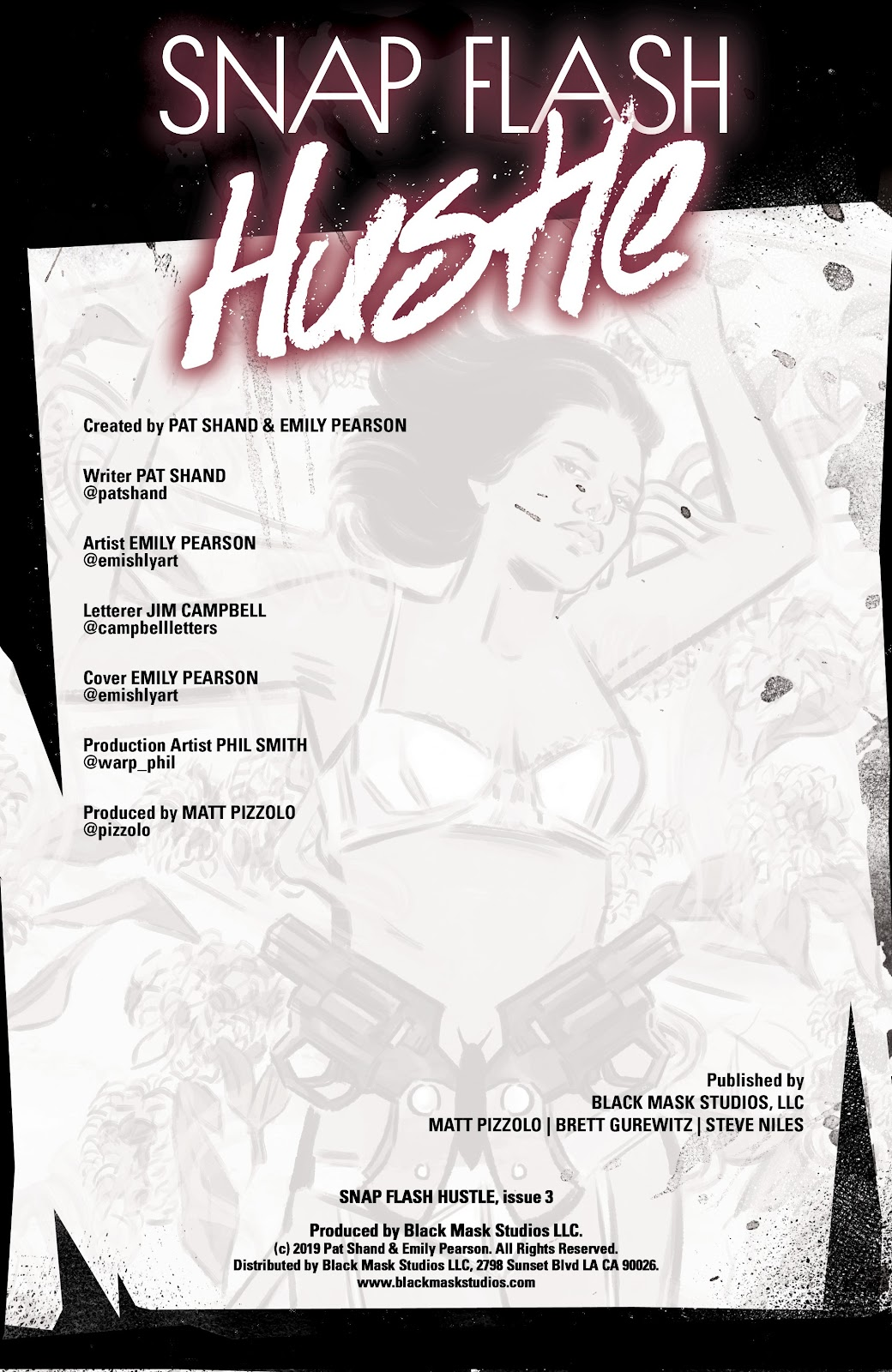 Read online Snap Flash Hustle comic -  Issue #3 - 2