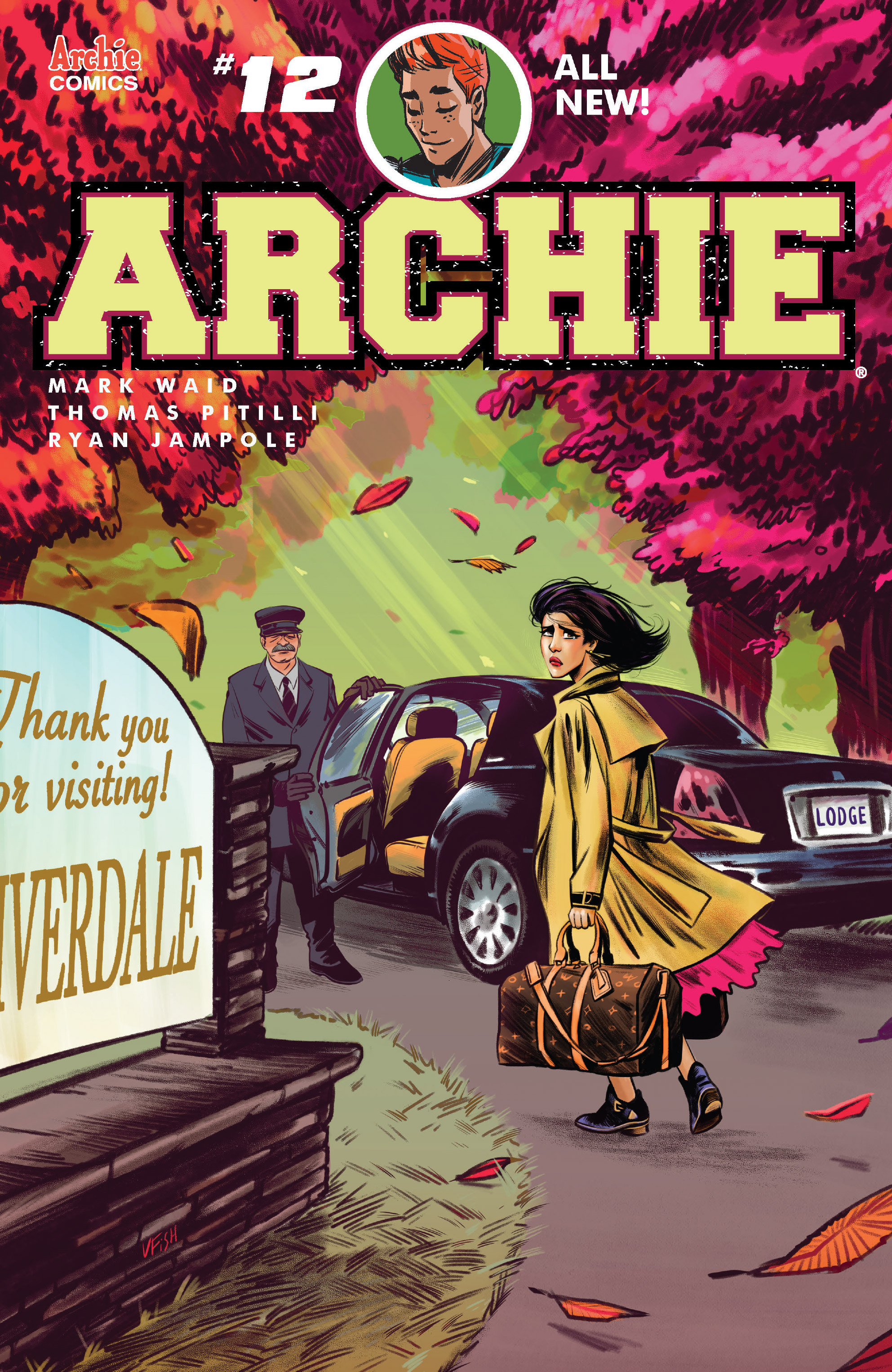 Read online Archie (2015) comic -  Issue #12 - 1