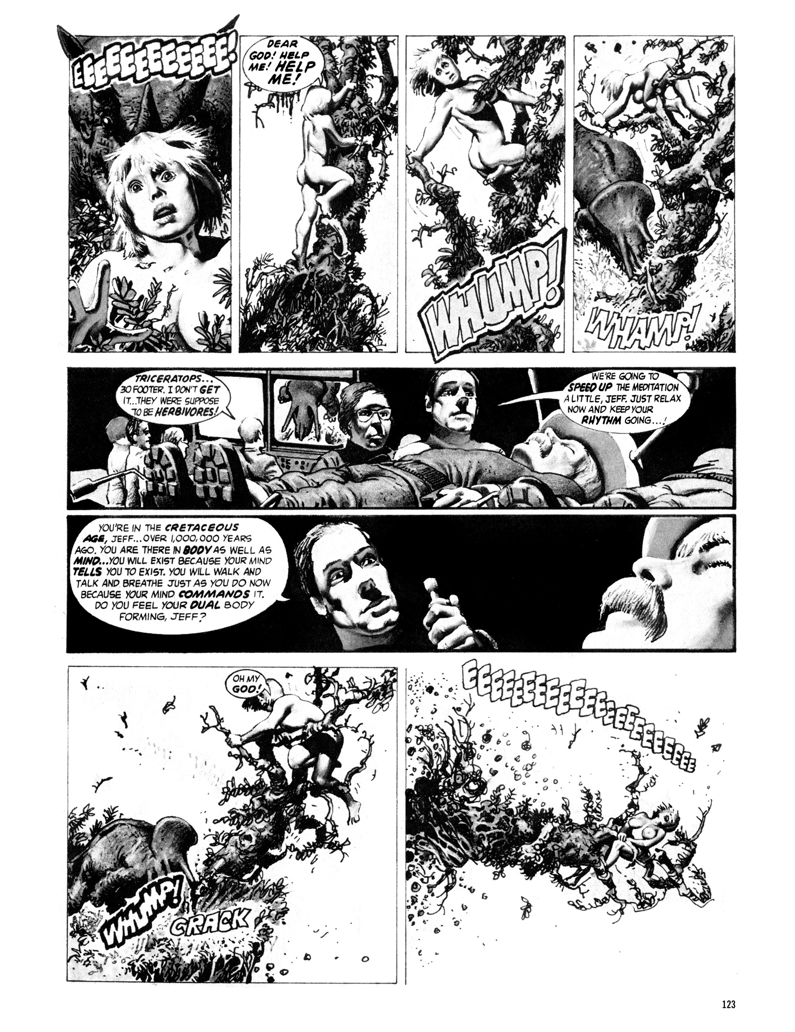 Read online Eerie Archives comic -  Issue # TPB 16 - 124