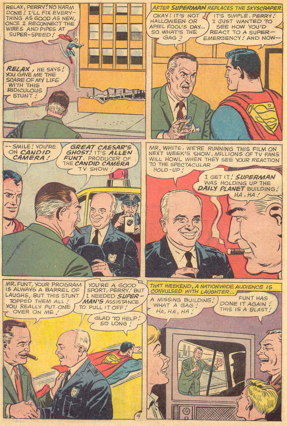 Read online Action Comics (1938) comic -  Issue #345 - 6