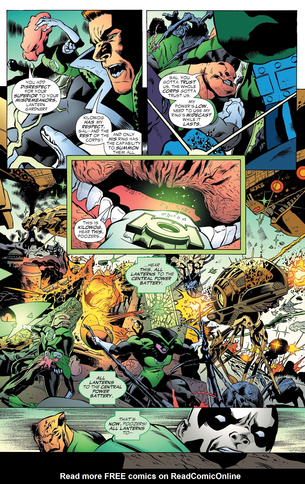 Read online Green Lantern by Geoff Johns comic -  Issue # TPB 1 (Part 3) - 79