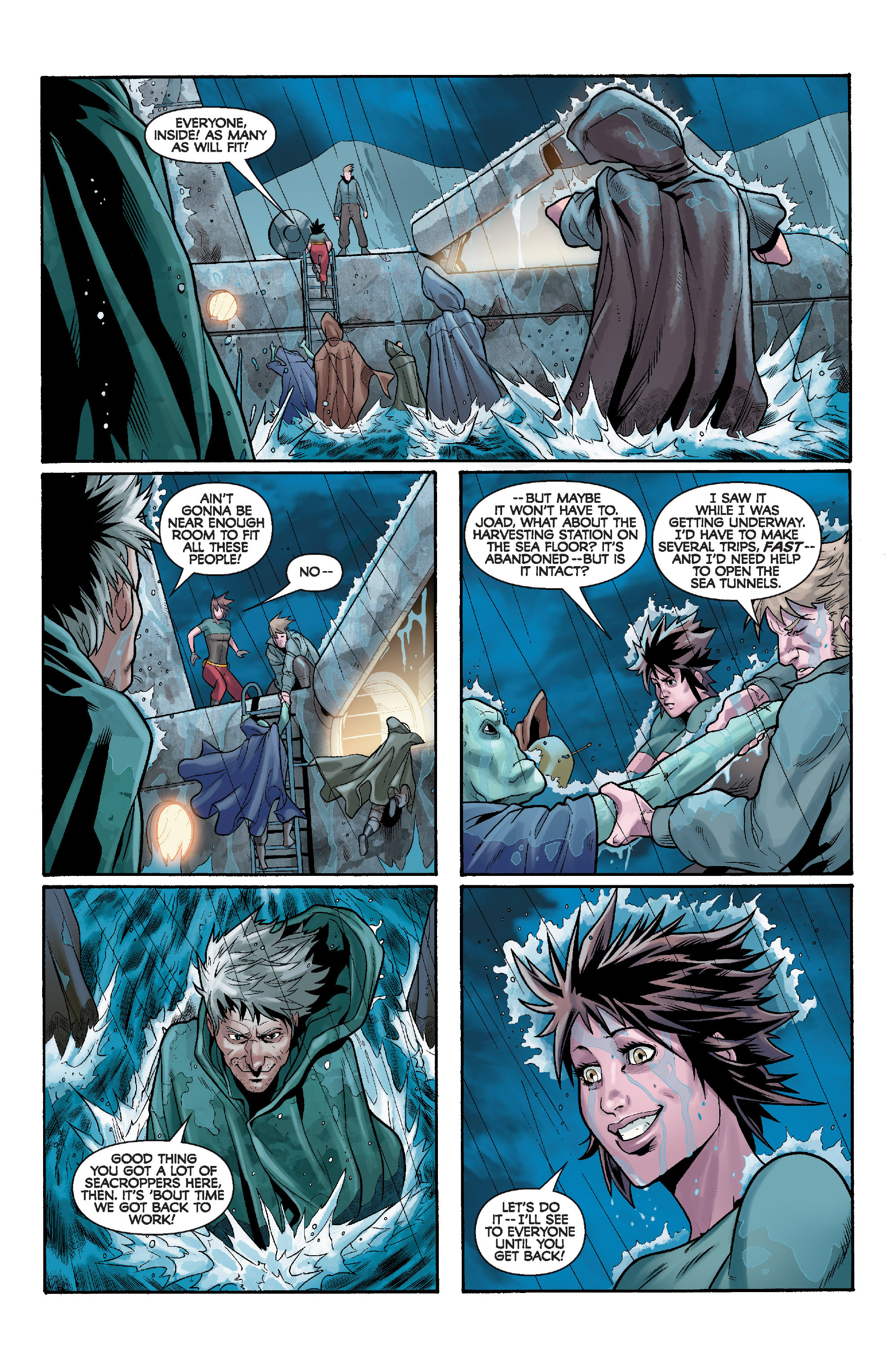 Read online Star Wars: Knight Errant - Deluge comic -  Issue #4 - 17