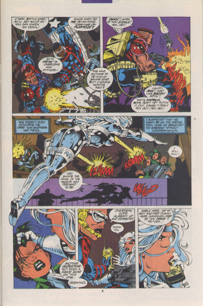 Read online Silver Sable and the Wild Pack comic -  Issue #15 - 4