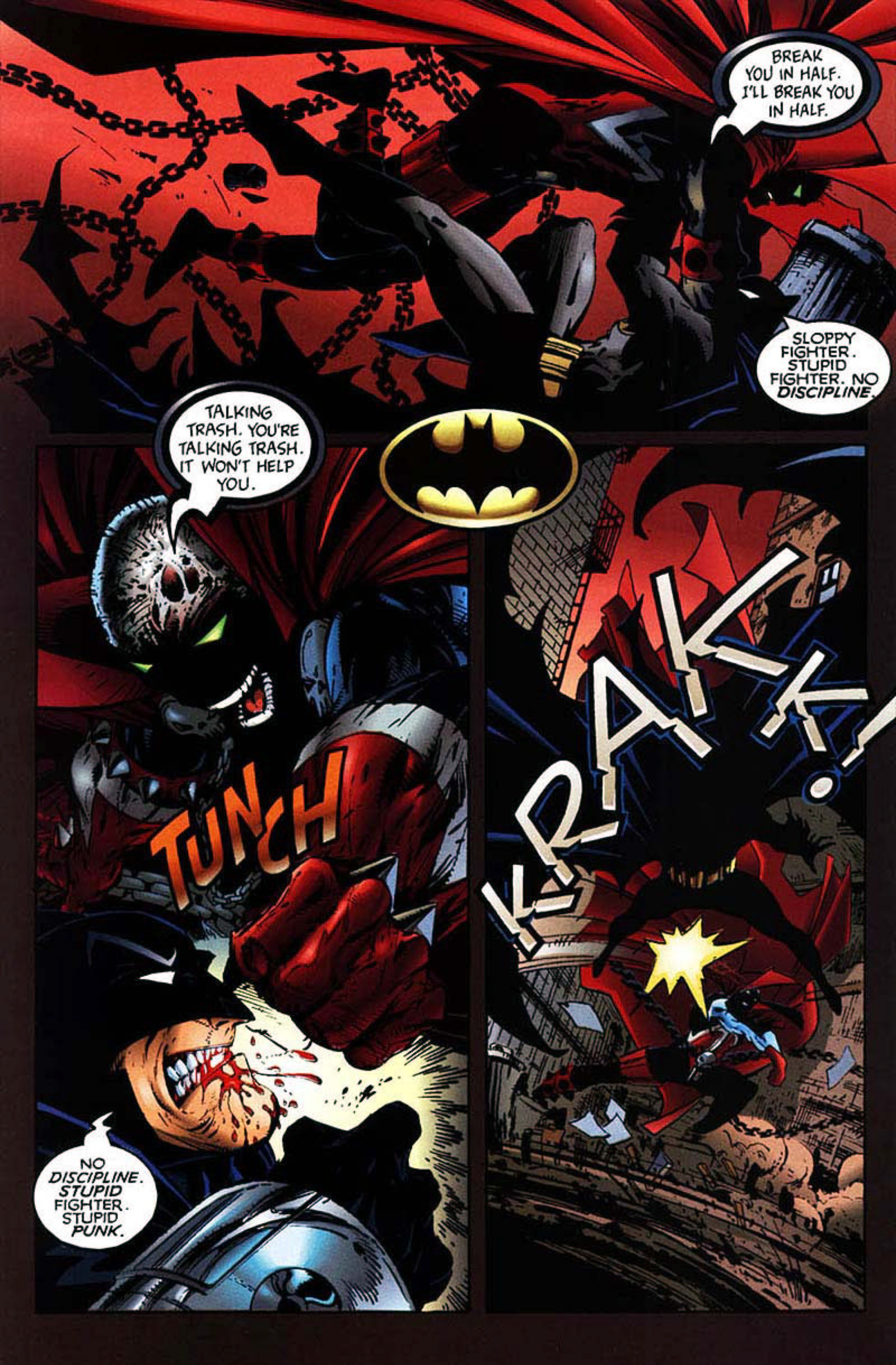 Read online Spawn-Batman comic -  Issue # Full - 35