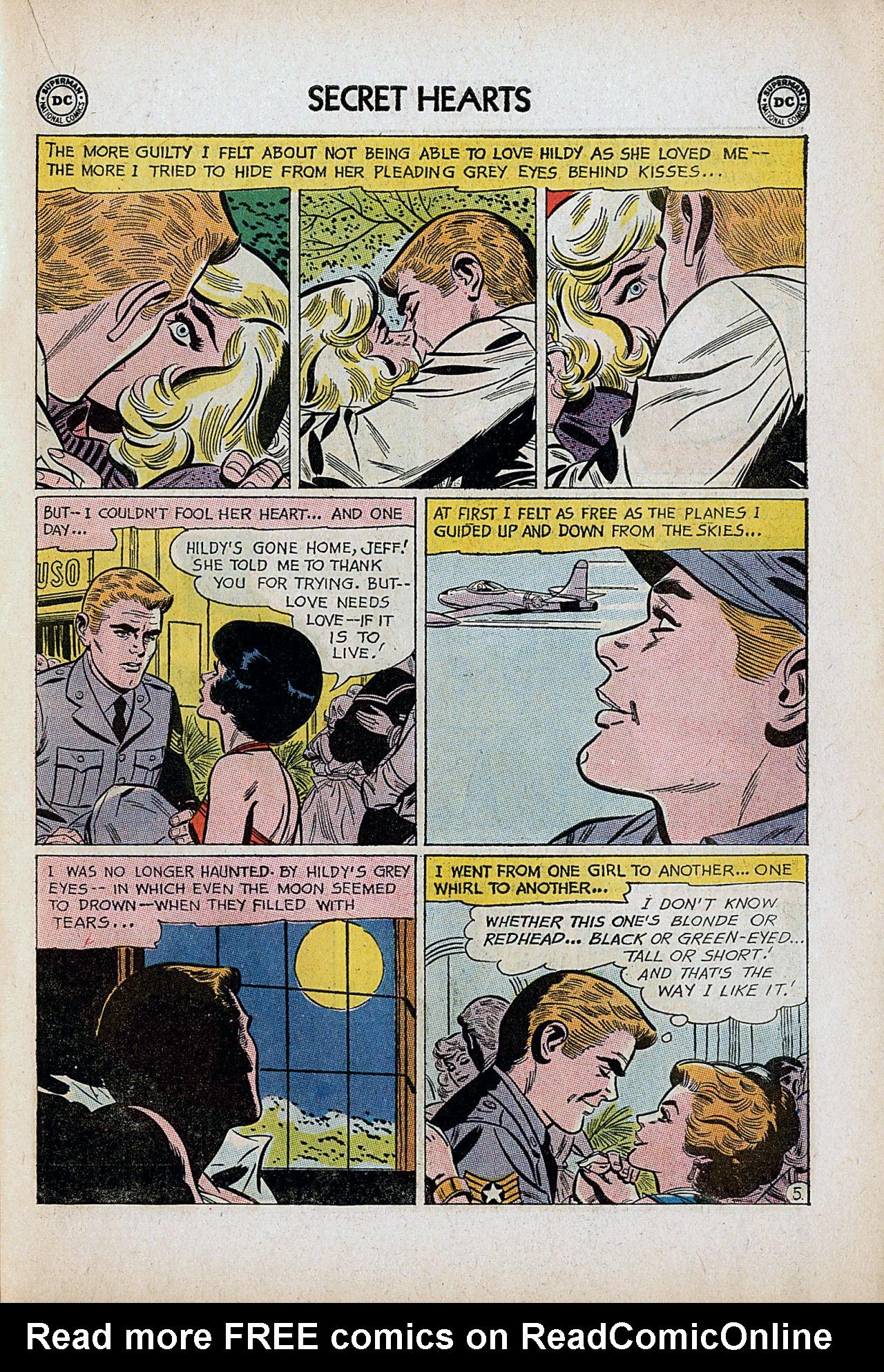 Read online Secret Hearts comic -  Issue #86 - 15