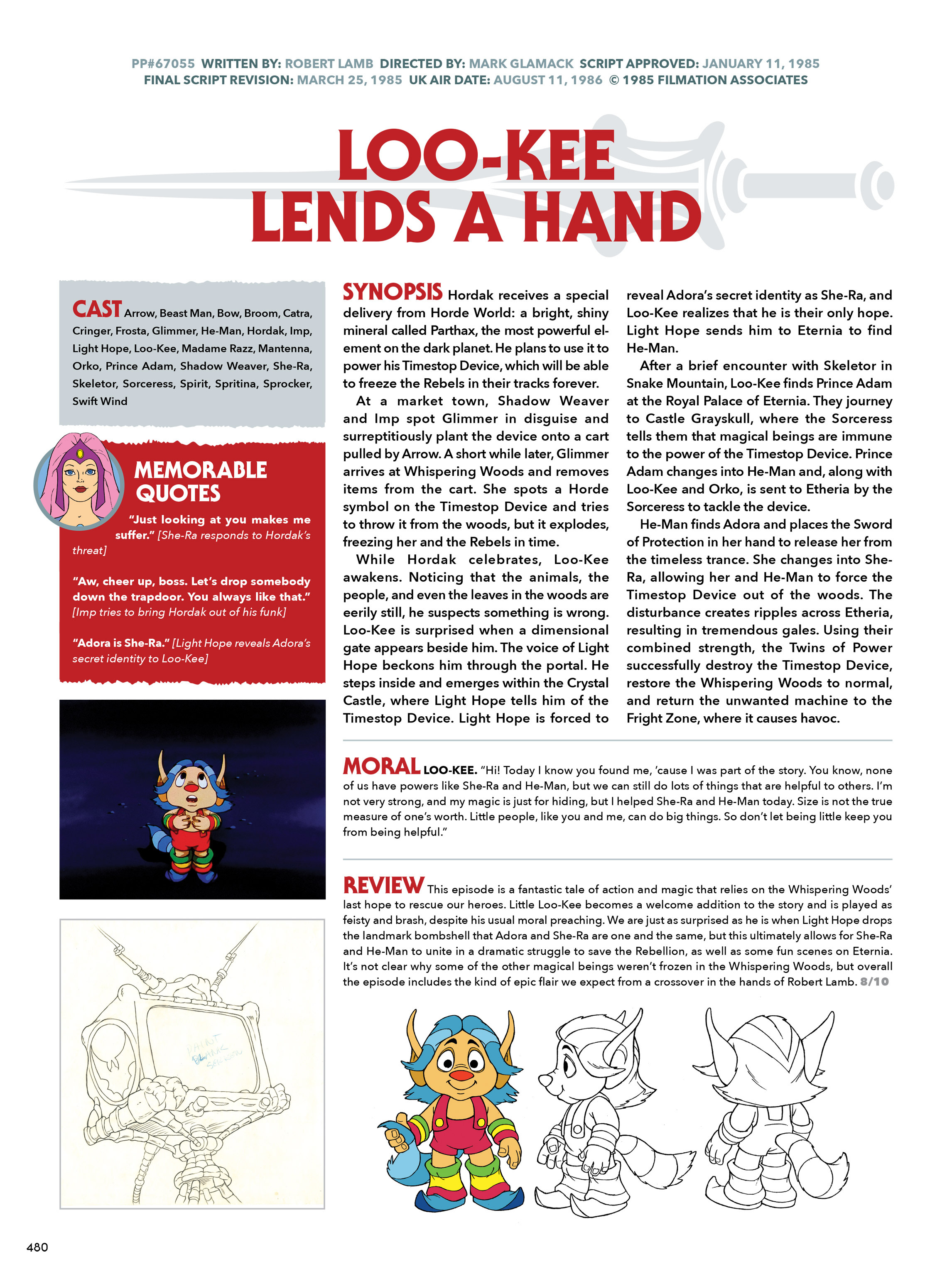 Read online He-Man and She-Ra: A Complete Guide to the Classic Animated Adventures comic -  Issue # TPB (Part 3) - 80
