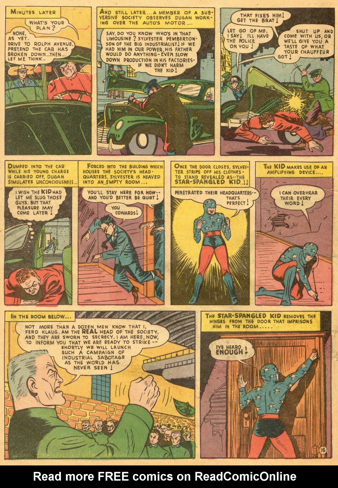 Star Spangled Comics (1941) issue 1 - Page 18