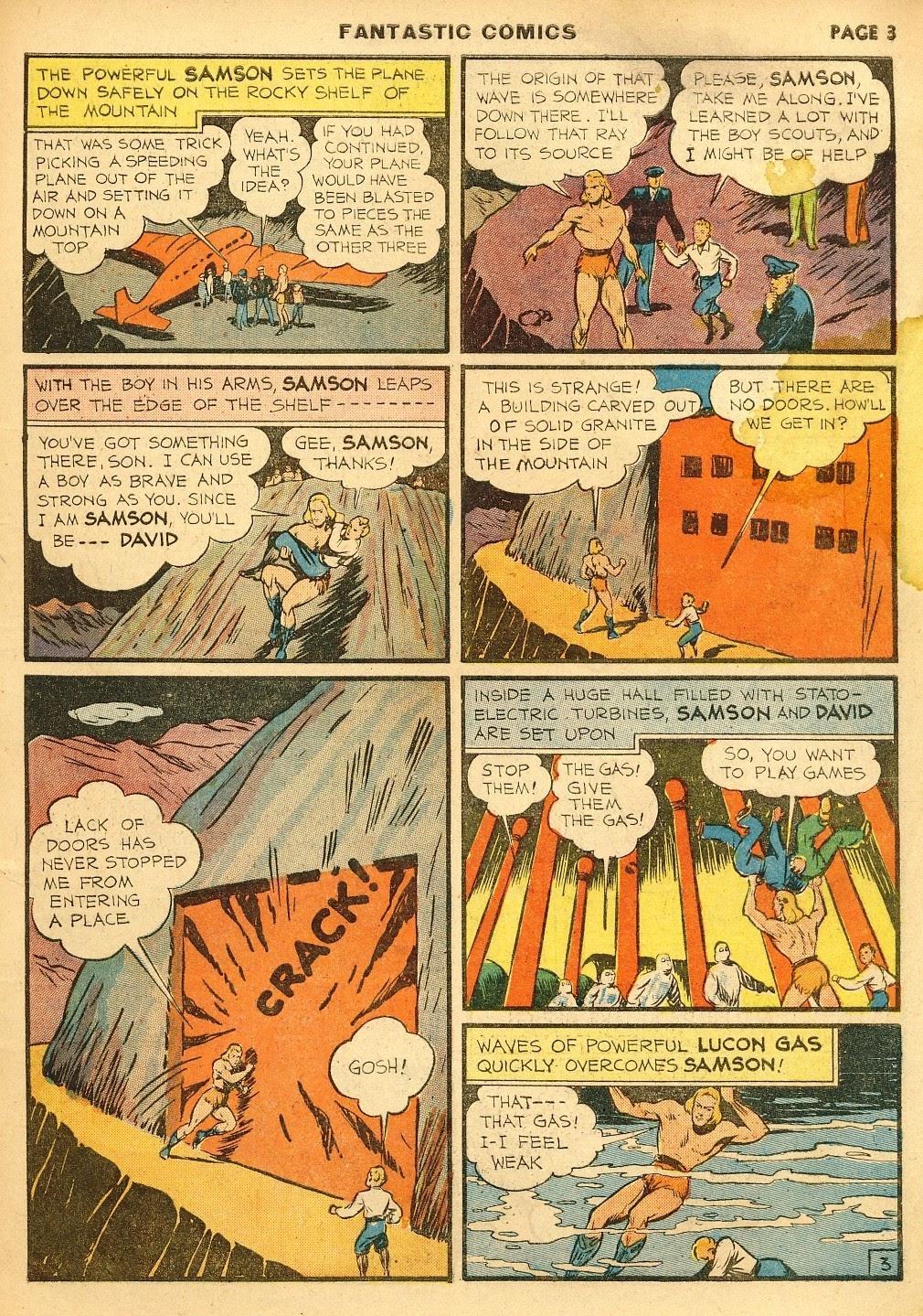 Read online Fantastic Comics comic -  Issue #10 - 4