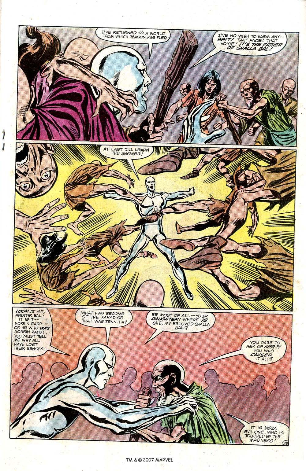 Read online Silver Surfer (1982) comic -  Issue # Full - 27