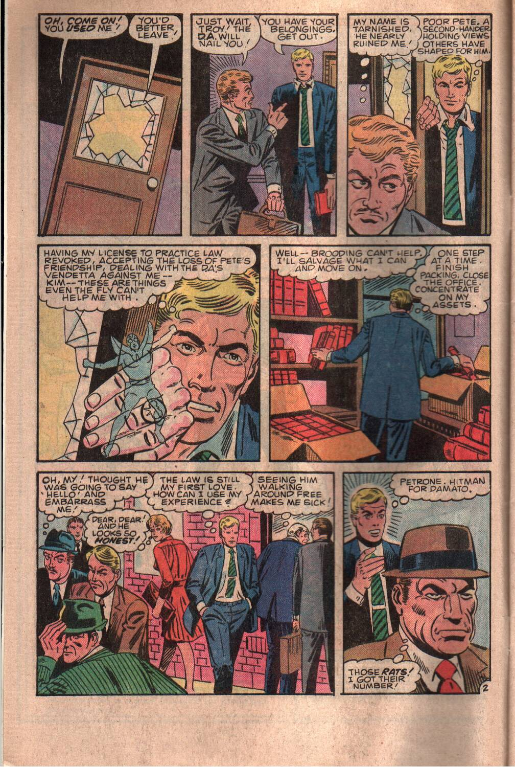 Read online The Fly (1983) comic -  Issue #7 - 3