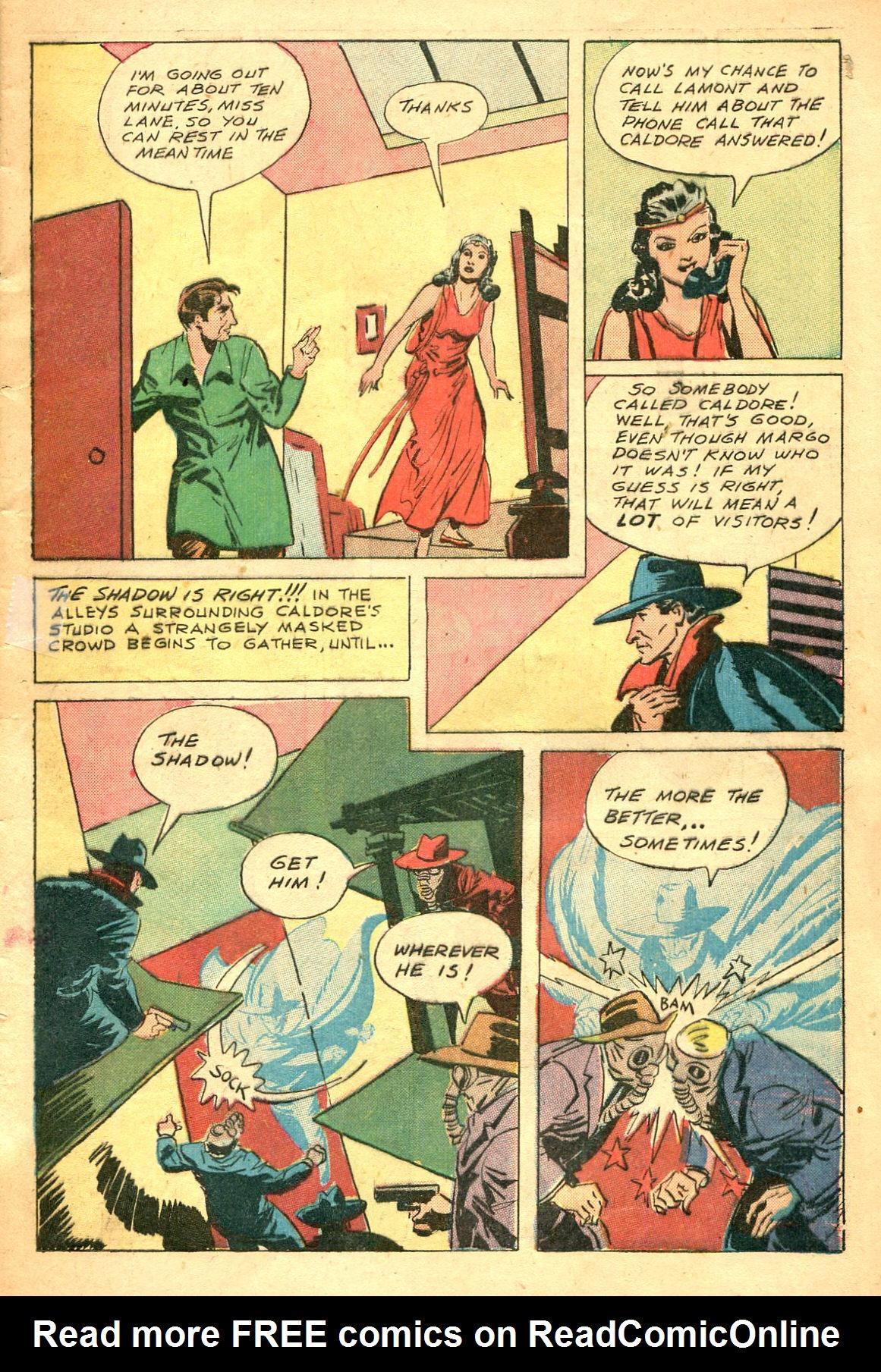 Read online Shadow Comics comic -  Issue #47 - 12