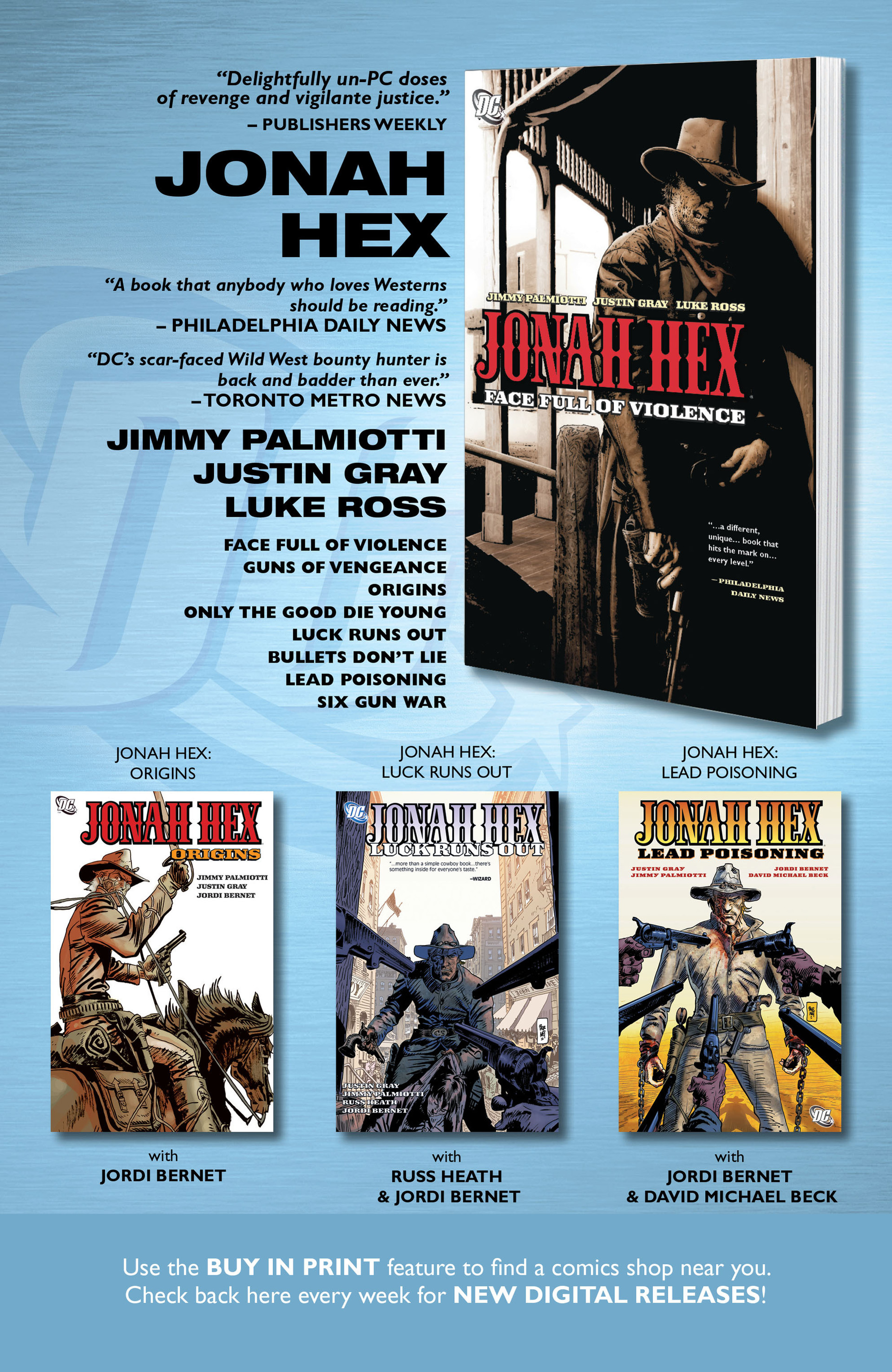 Read online All-Star Western (2011) comic -  Issue #13 - 32