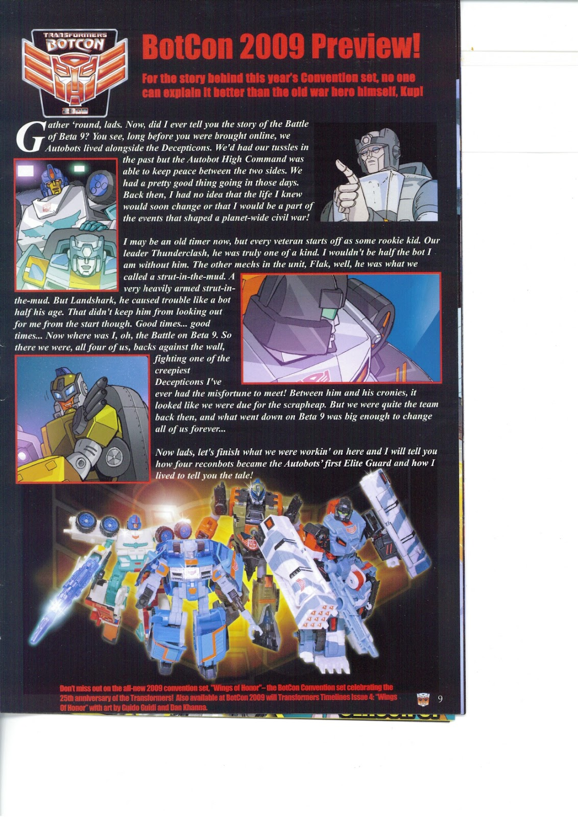 Read online Transformers: Collectors' Club comic -  Issue #26 - 9
