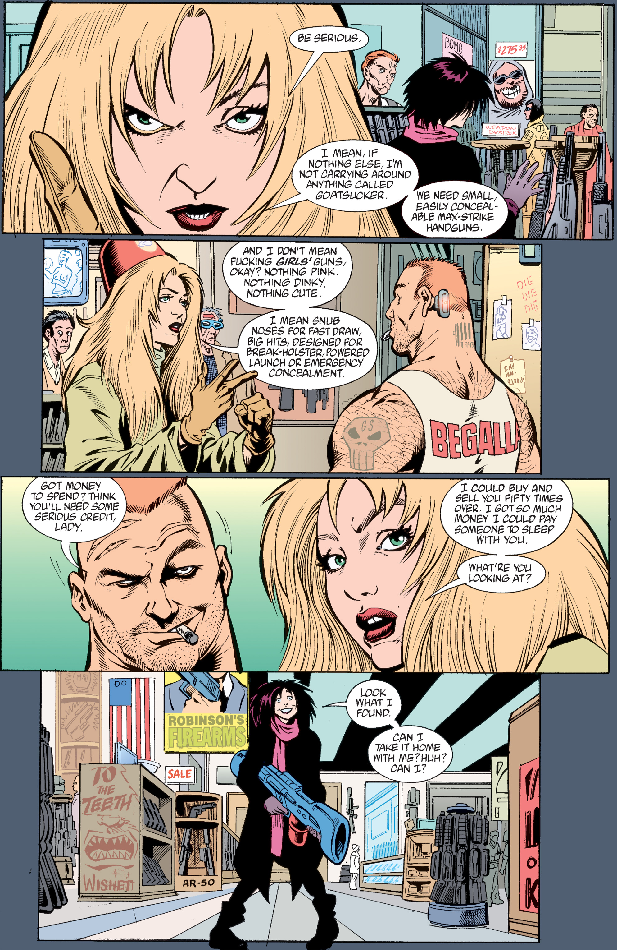 Read online Transmetropolitan comic -  Issue #33 - 11